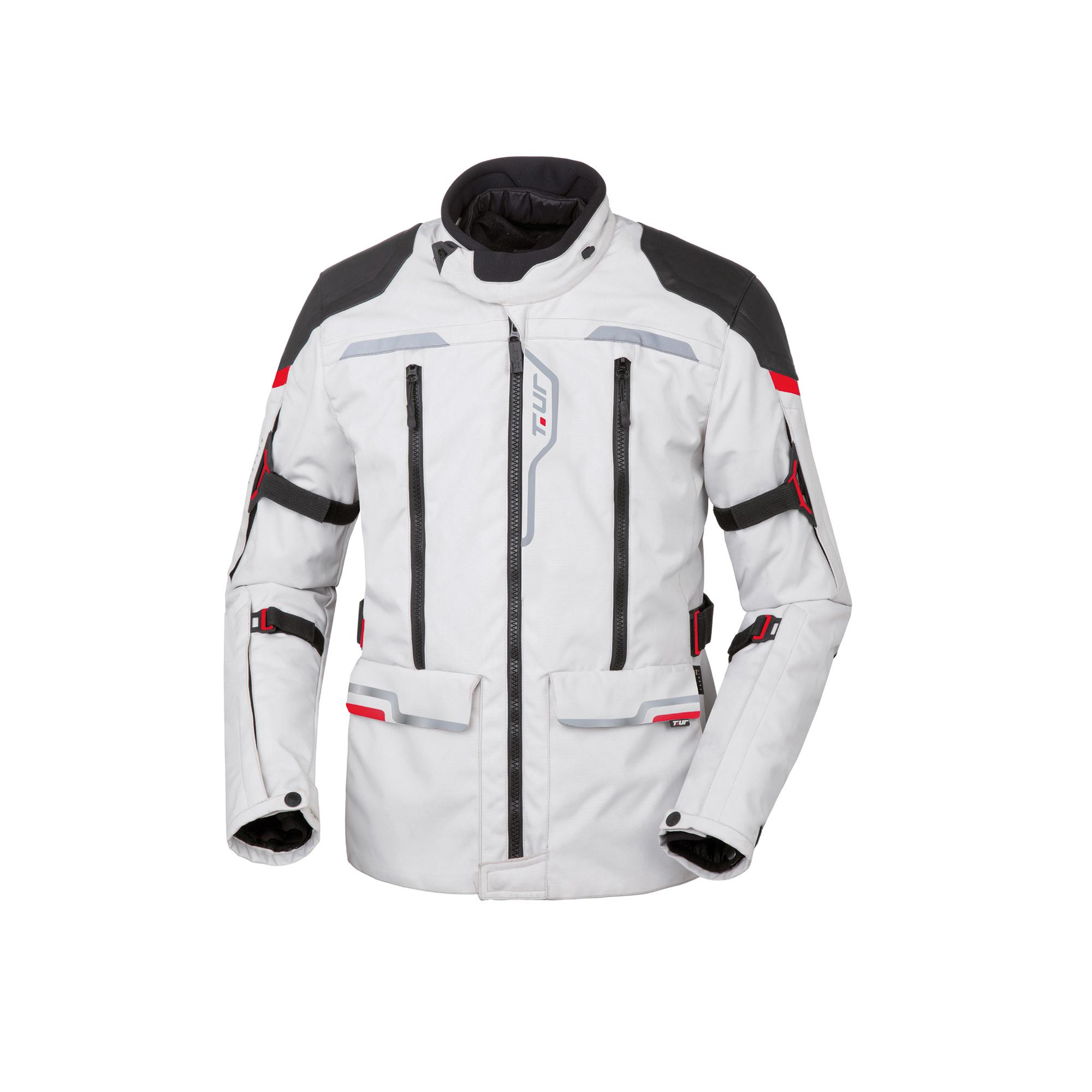 Giacca J-two Light Grey-Red