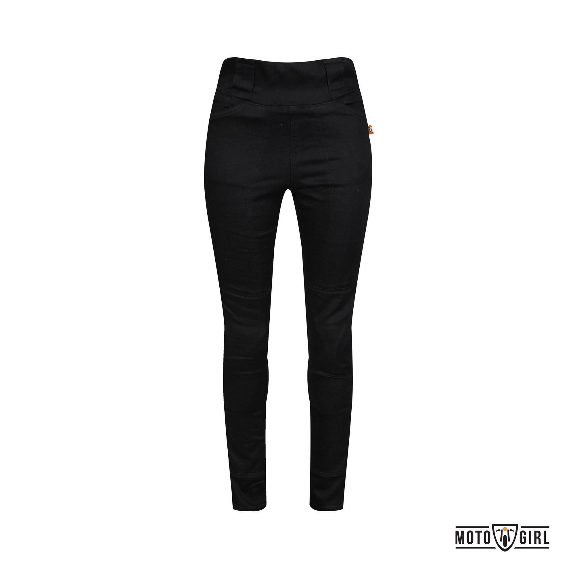 Pantaloni Motogirl - Melissa Jeggings Nero