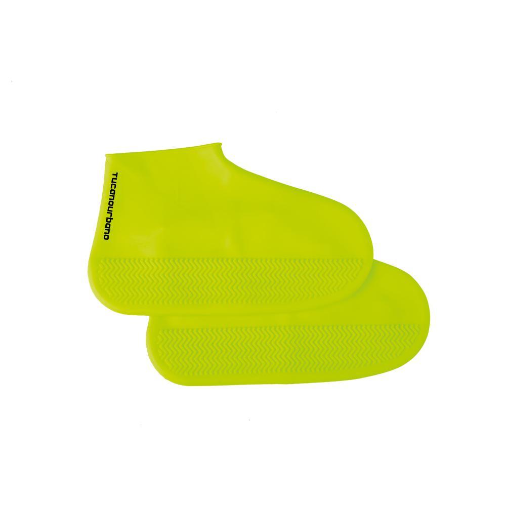 tucano urbano copriscarpe giallo fluo