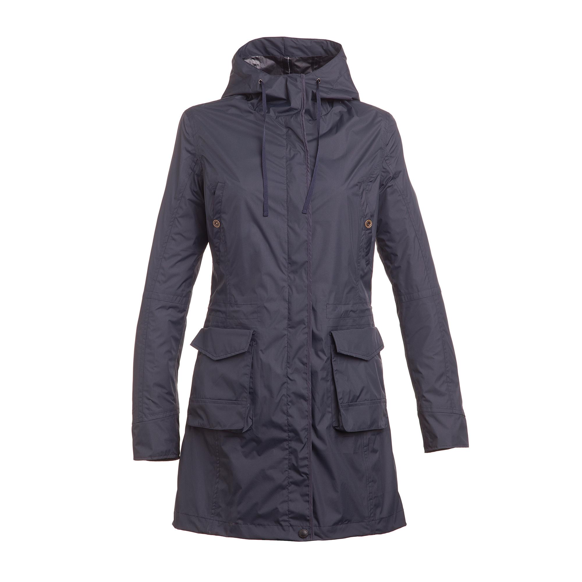 Long Parka Amelia Dark Blue