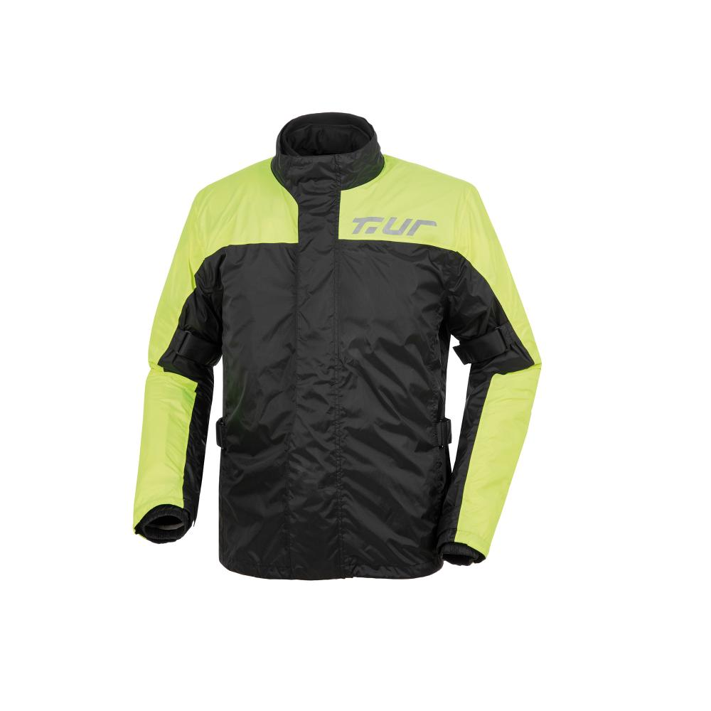t.ur antipioggia black yellow fluo