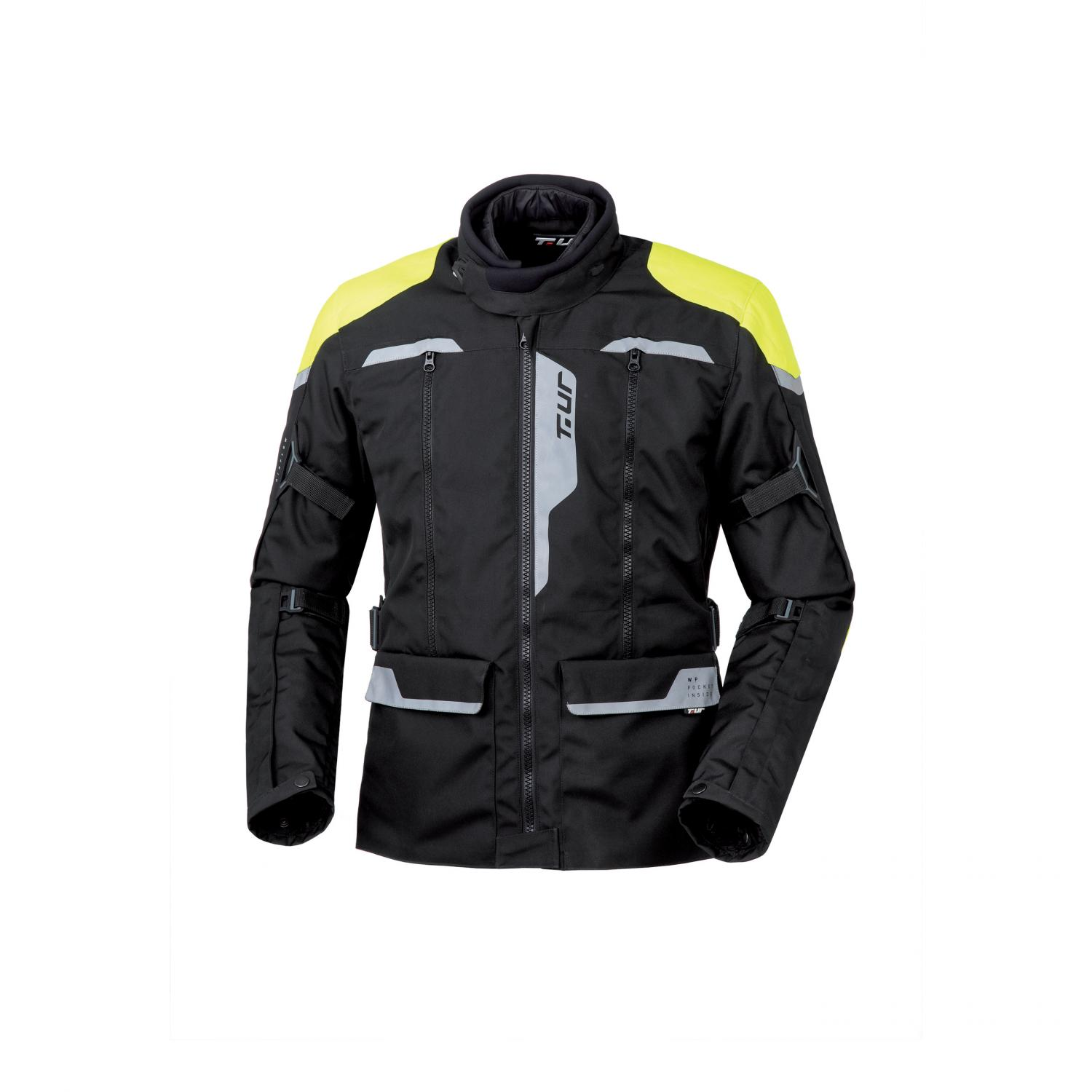 Giacca J-two Black – Yellow Fluo