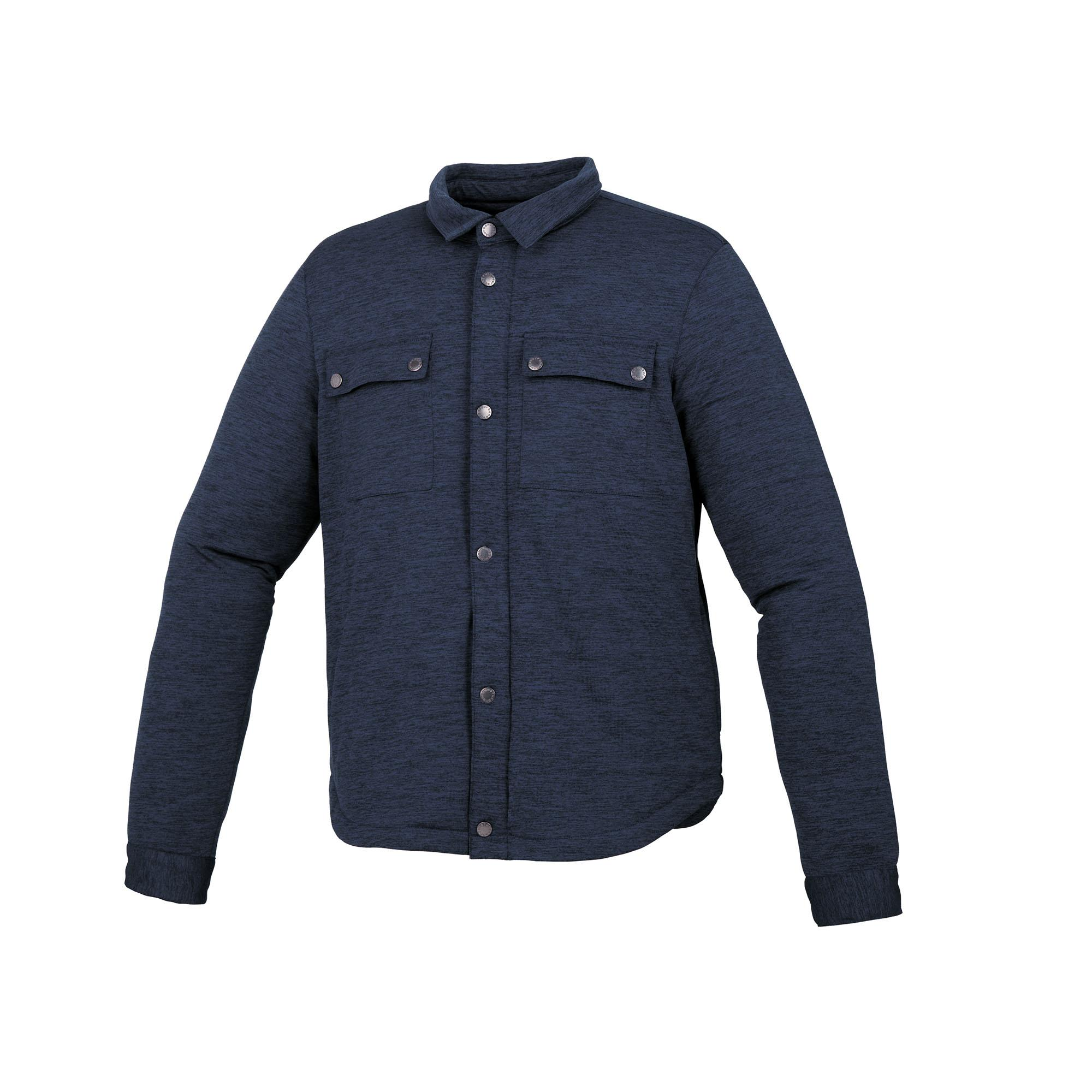 Jacket Fred Mélange Dark Blue