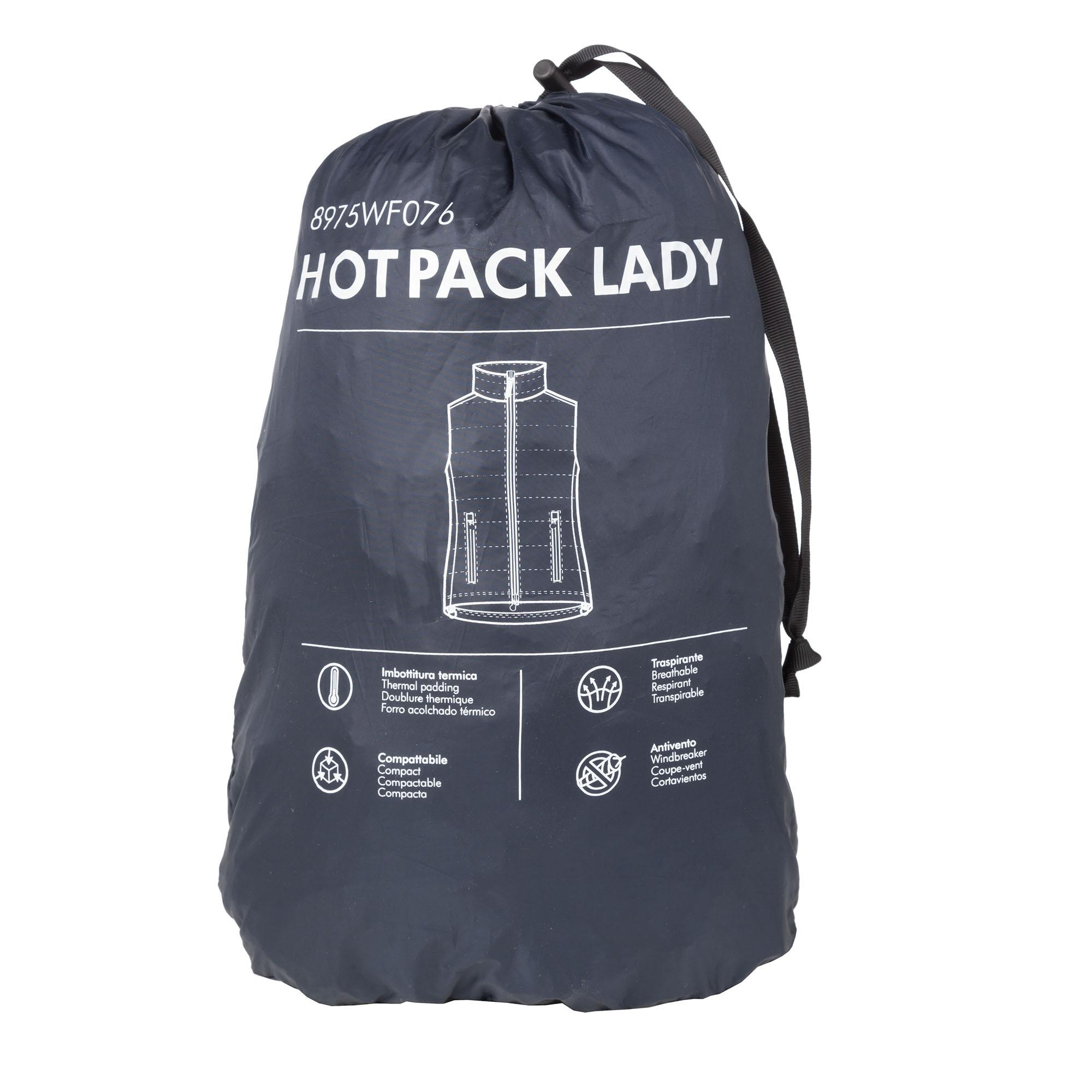 Gilet Hot Pack Lady Blu Scuro