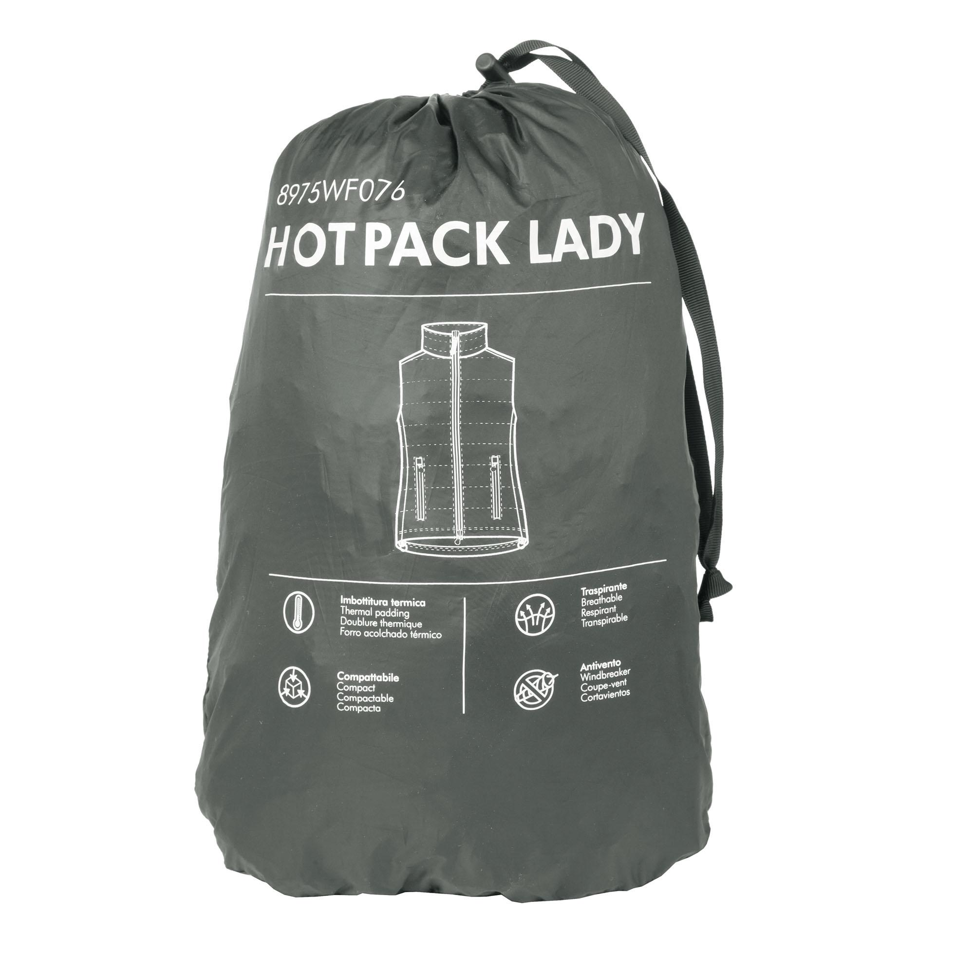 Gilet Hot Pack Lady Dark Grey
