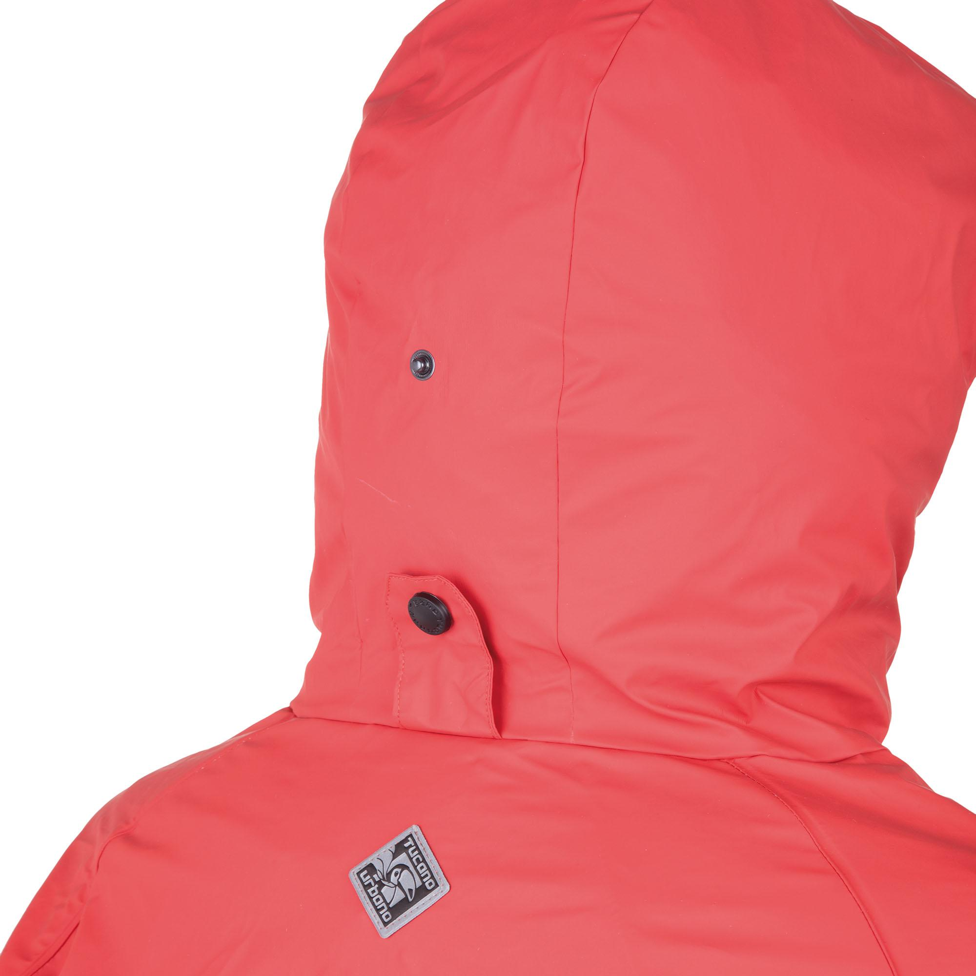 Fishtail Parka Pluvia Red Tucano Urbano