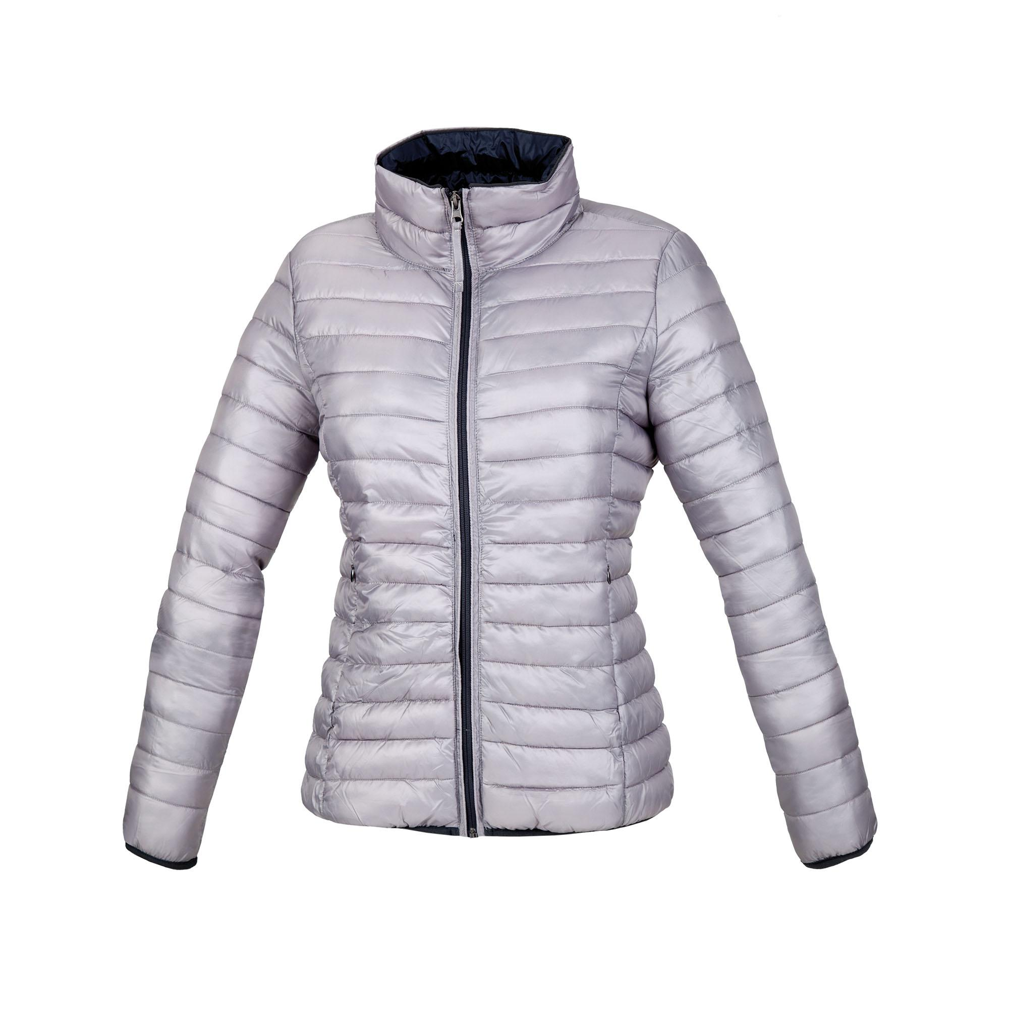 Down Jacket Lot Pack Lady Light Grey
