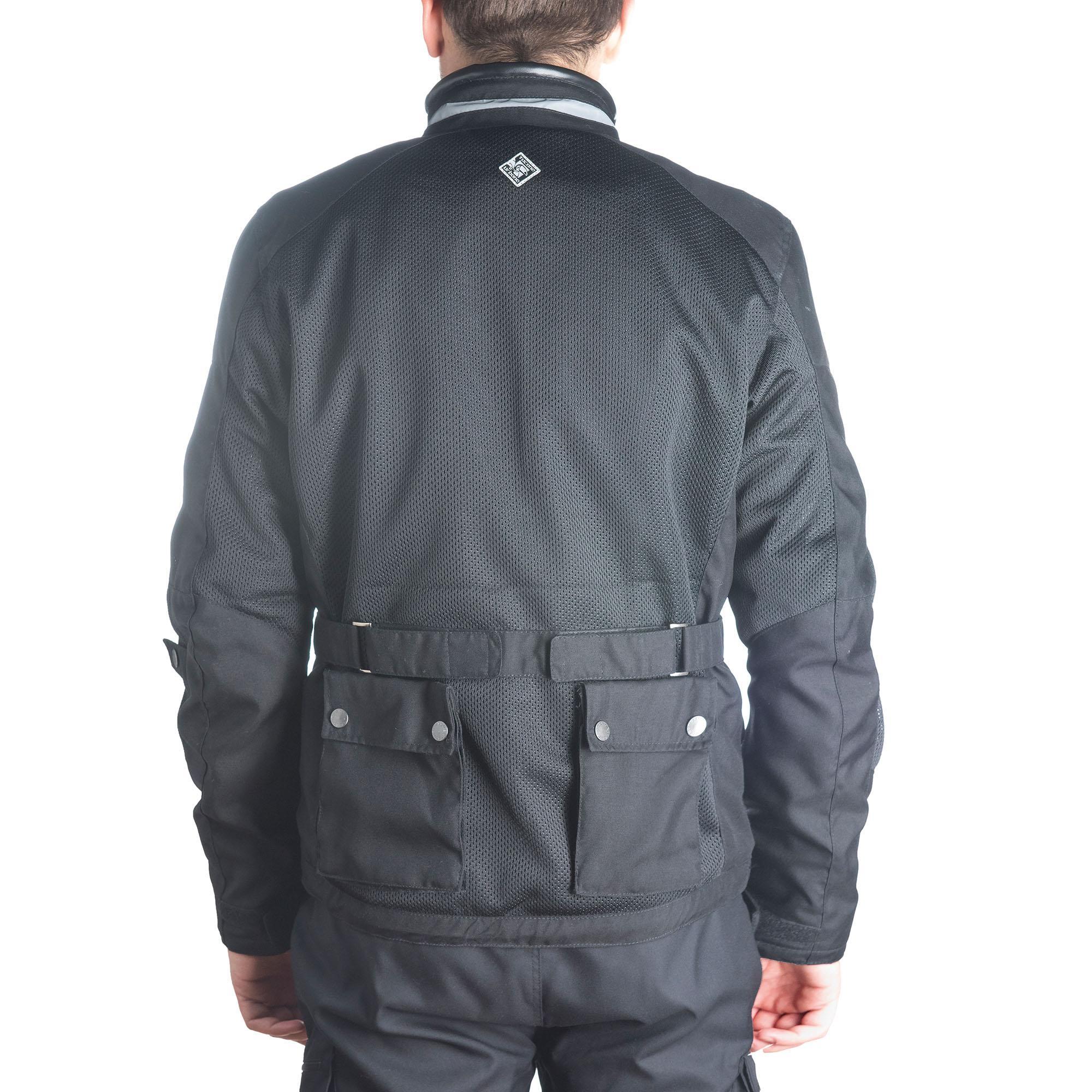 Field Jacket Multitask Nero