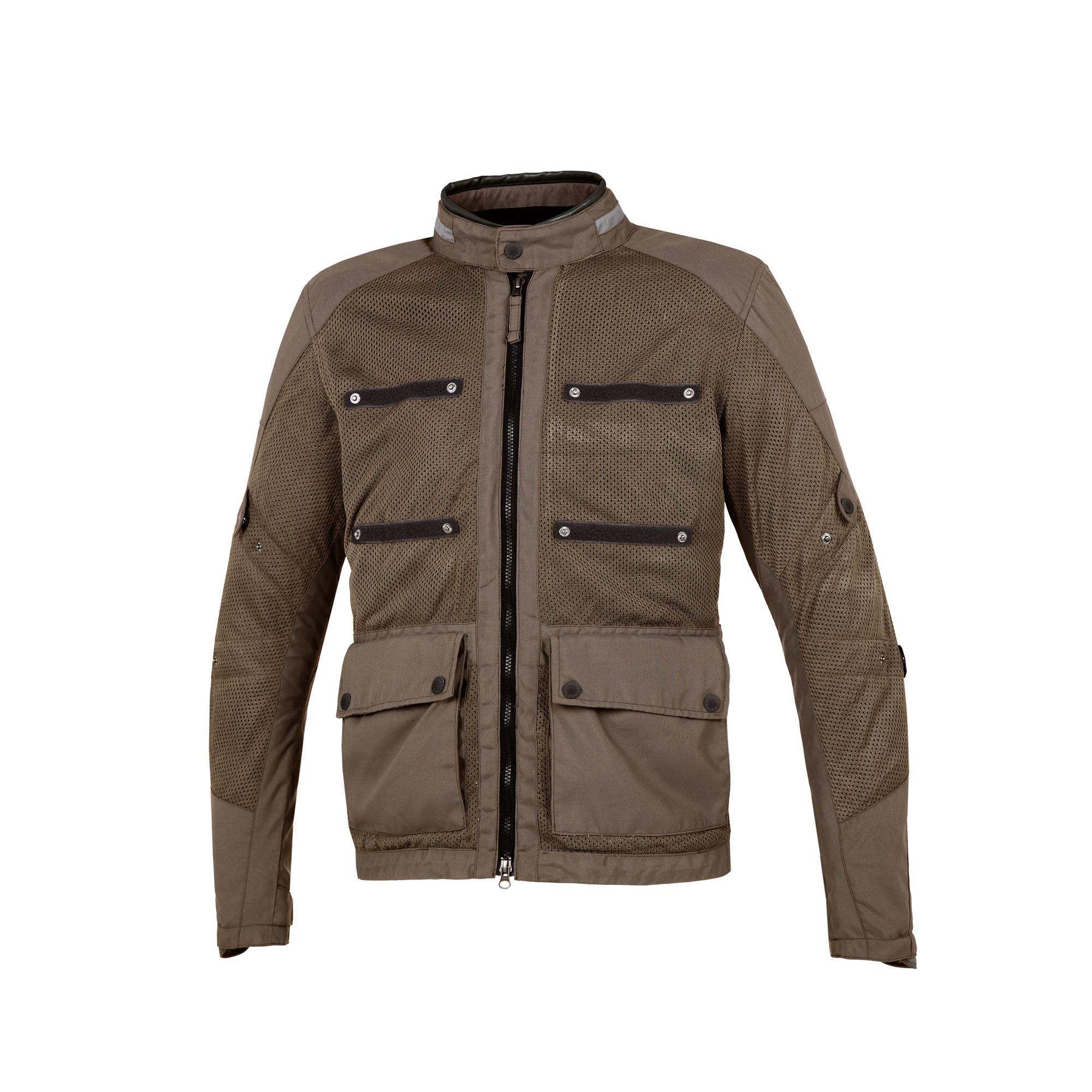 Field Jacket Multitask Bark Brown
