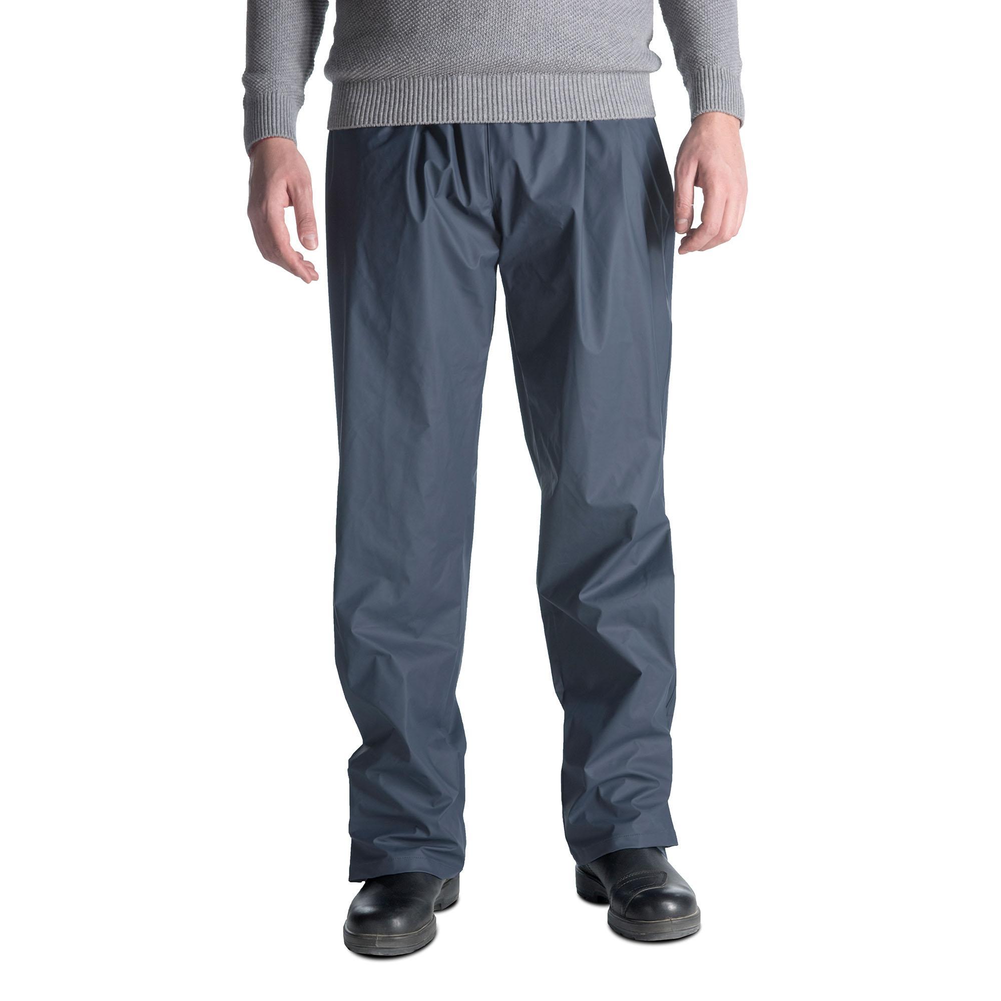 Pantaloni Pantapluvia Blu Scuro