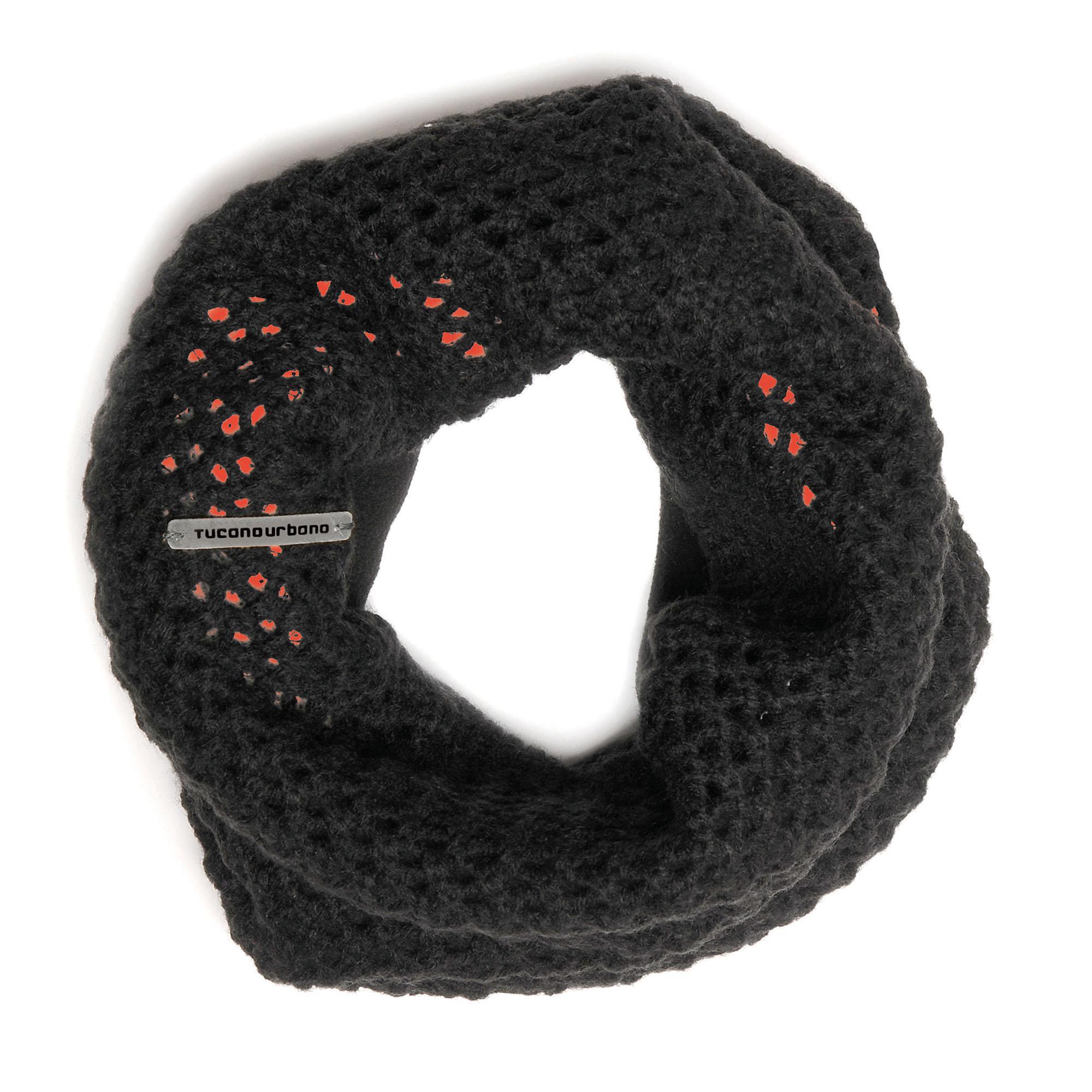Cappello Sharpei Black–Fluo Orange