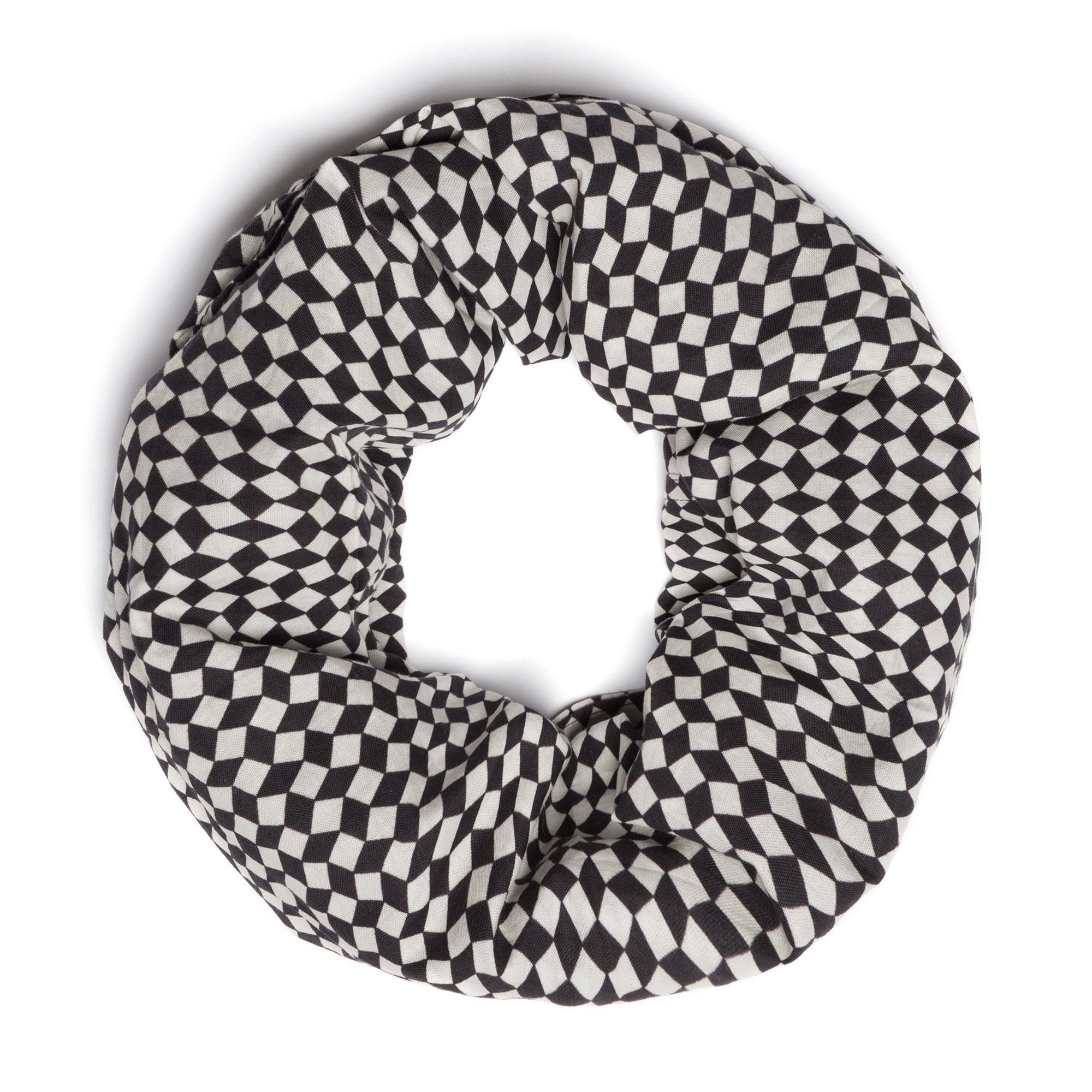 Collare Lagotto Mini Crazy Rhombus Black &White
