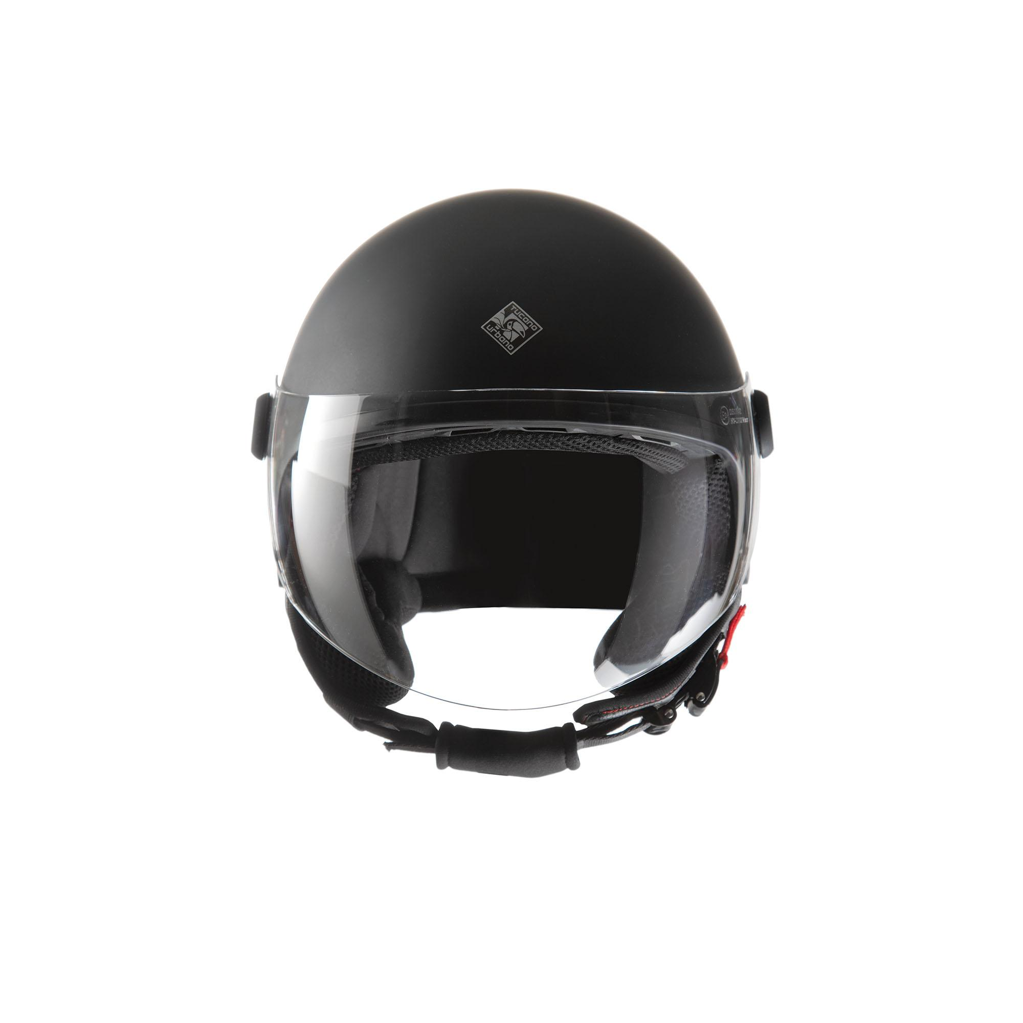 Demi–jet Helmet El'jettin 100% Polycarbonate – Inner: 100% Polystyrene – Lining: 100% Polyester