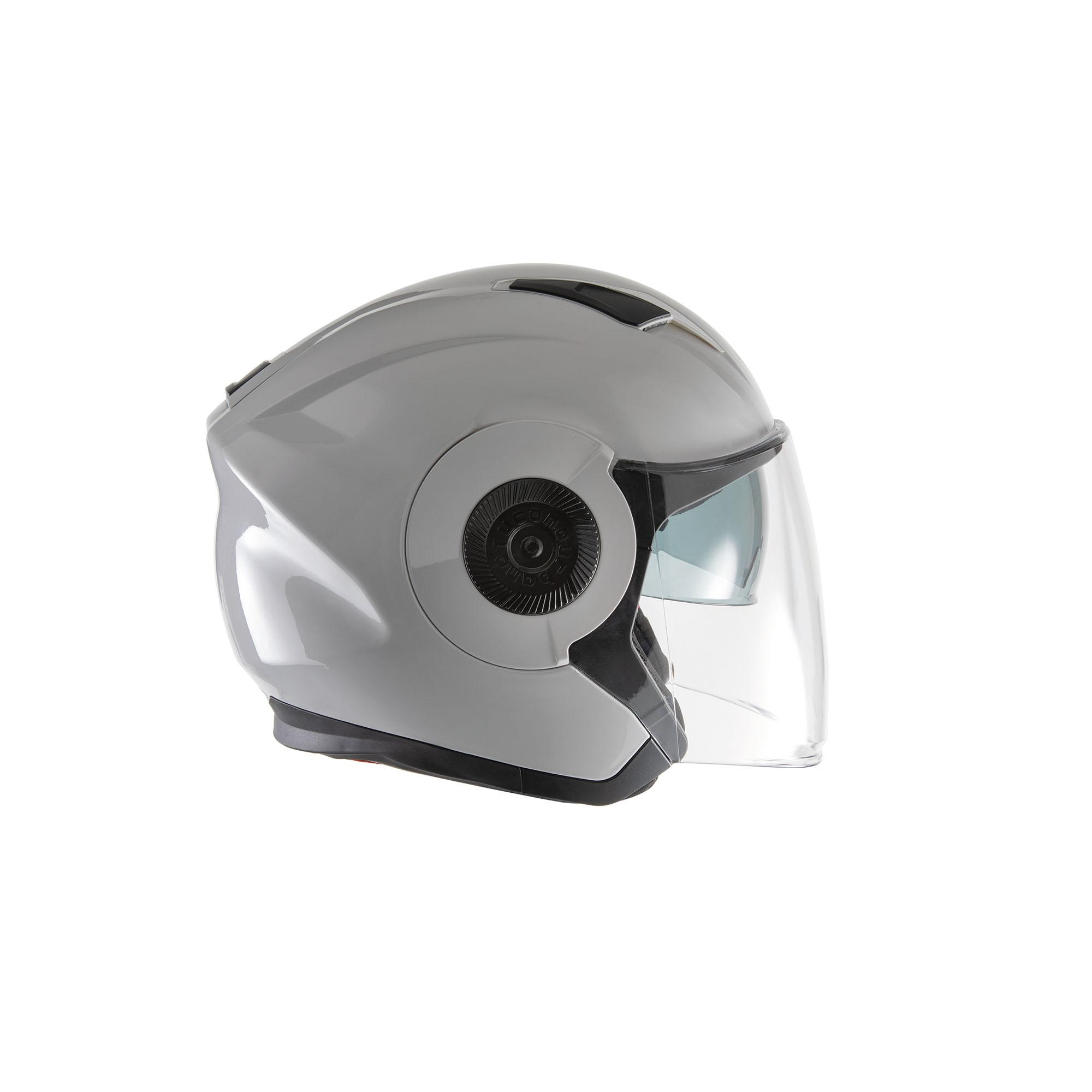 Jet Helmet El'tange Glossy Ice White
