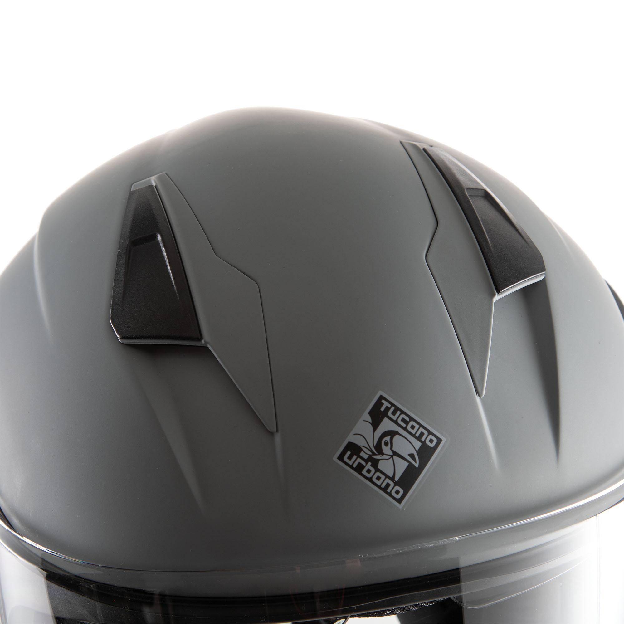 Jet Helmet El'tange Grey / Graphic A – Matte