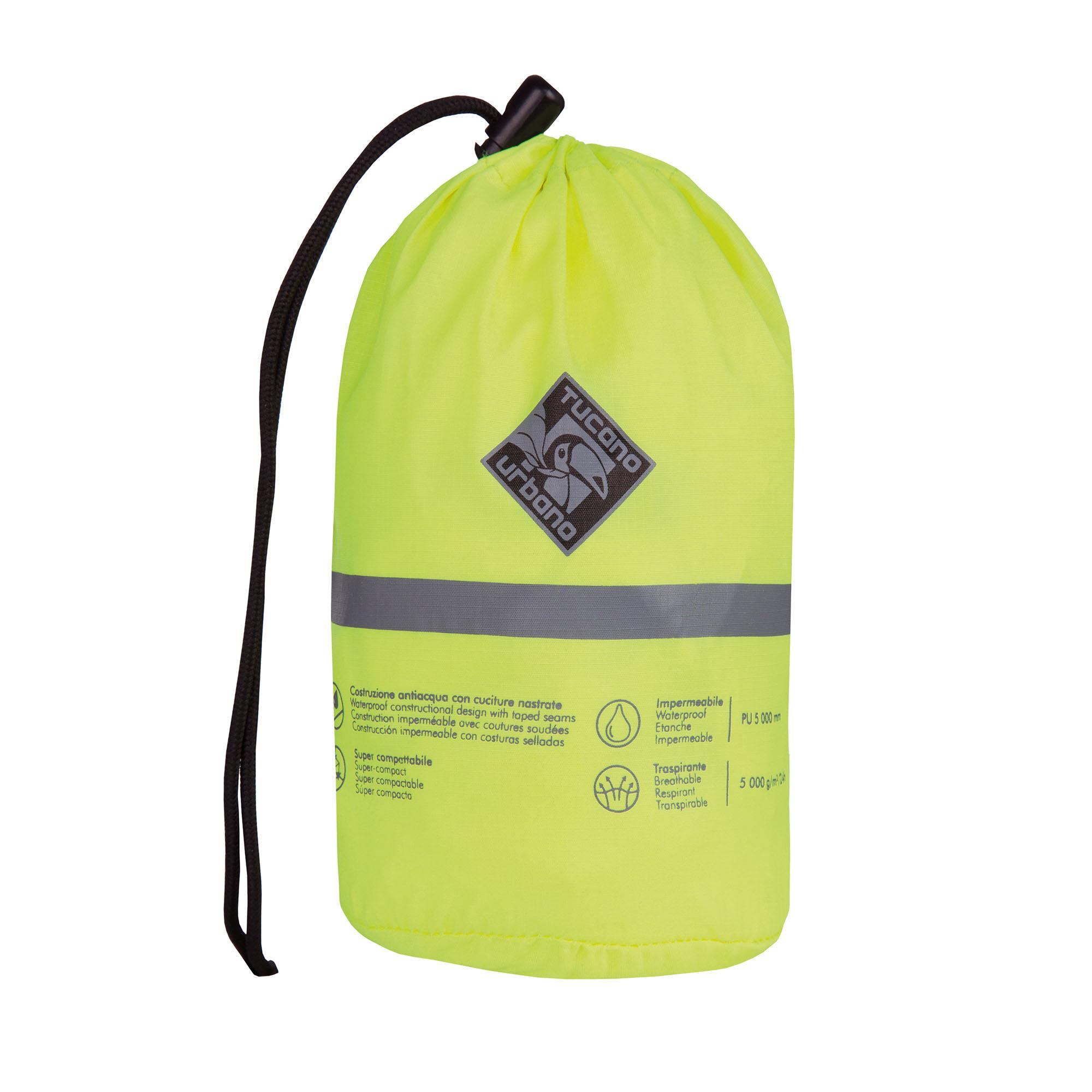 Super–compact Raincoat Nano Rain Jacket Plus Fluorescent Yellow