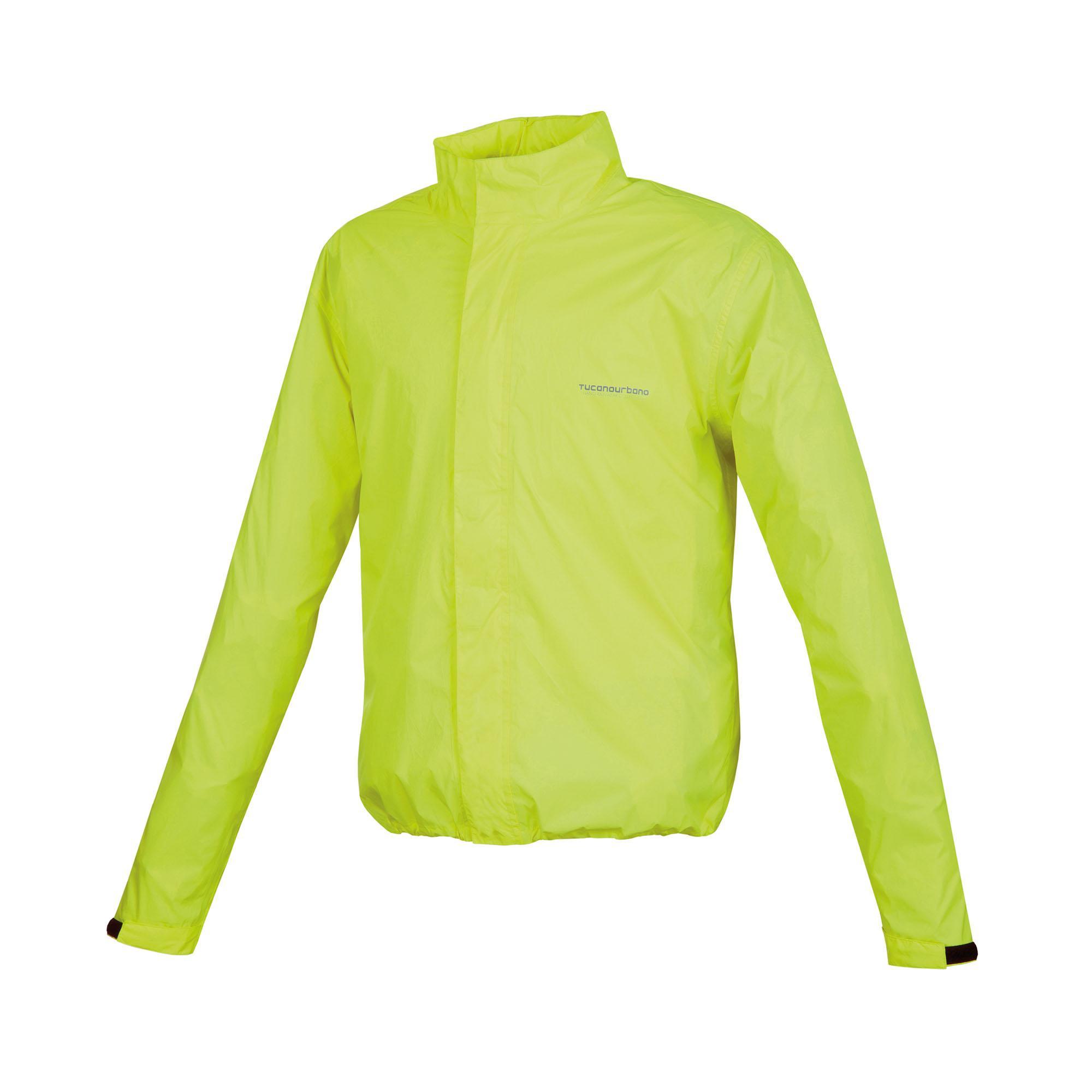Giacca Antipioggia Nano Rain Jacket Plus Giallo Fluo