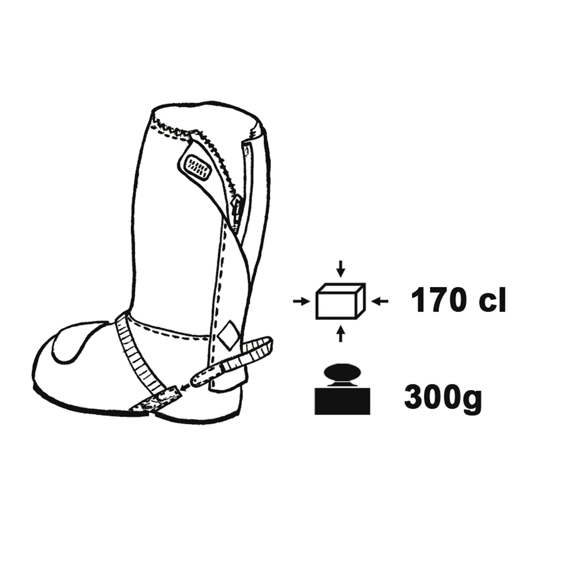 Nano Shoe Cover With Zip Black