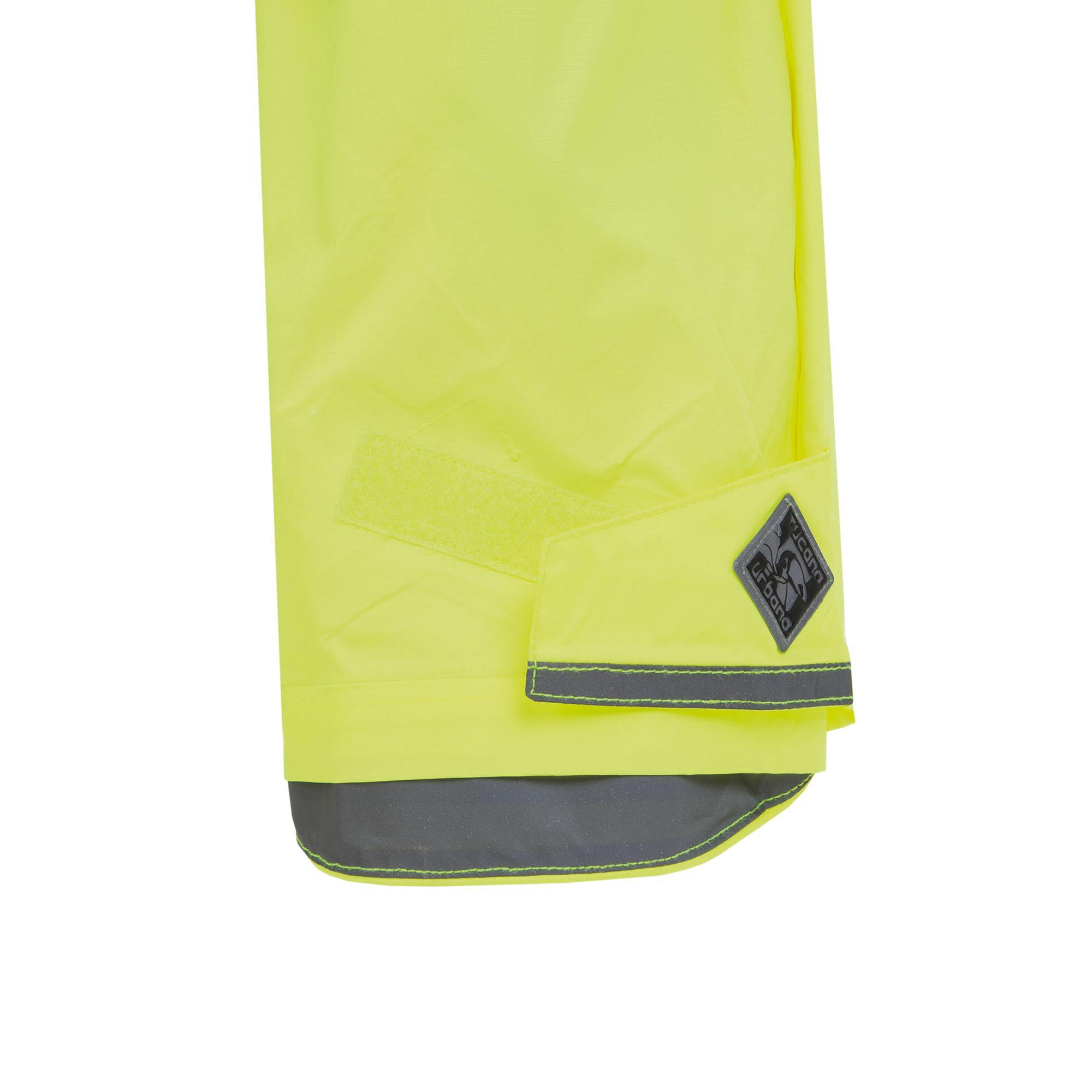 Rainproof Trousers Panta Nano Rain Zeta Fluorescent Yellow
