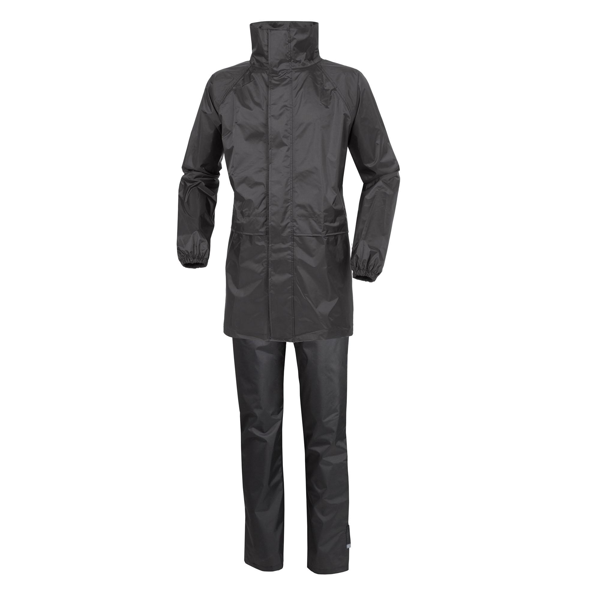 Conjunto De Cazadora Y Pantalón Impermeables Set Diluvio Start Negro