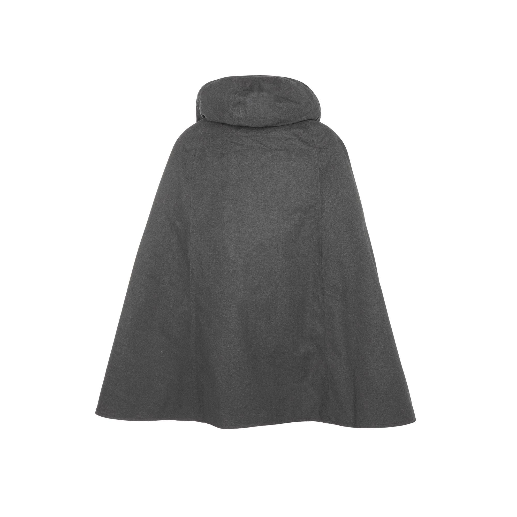 Rain Cape Tabello  Dark grey