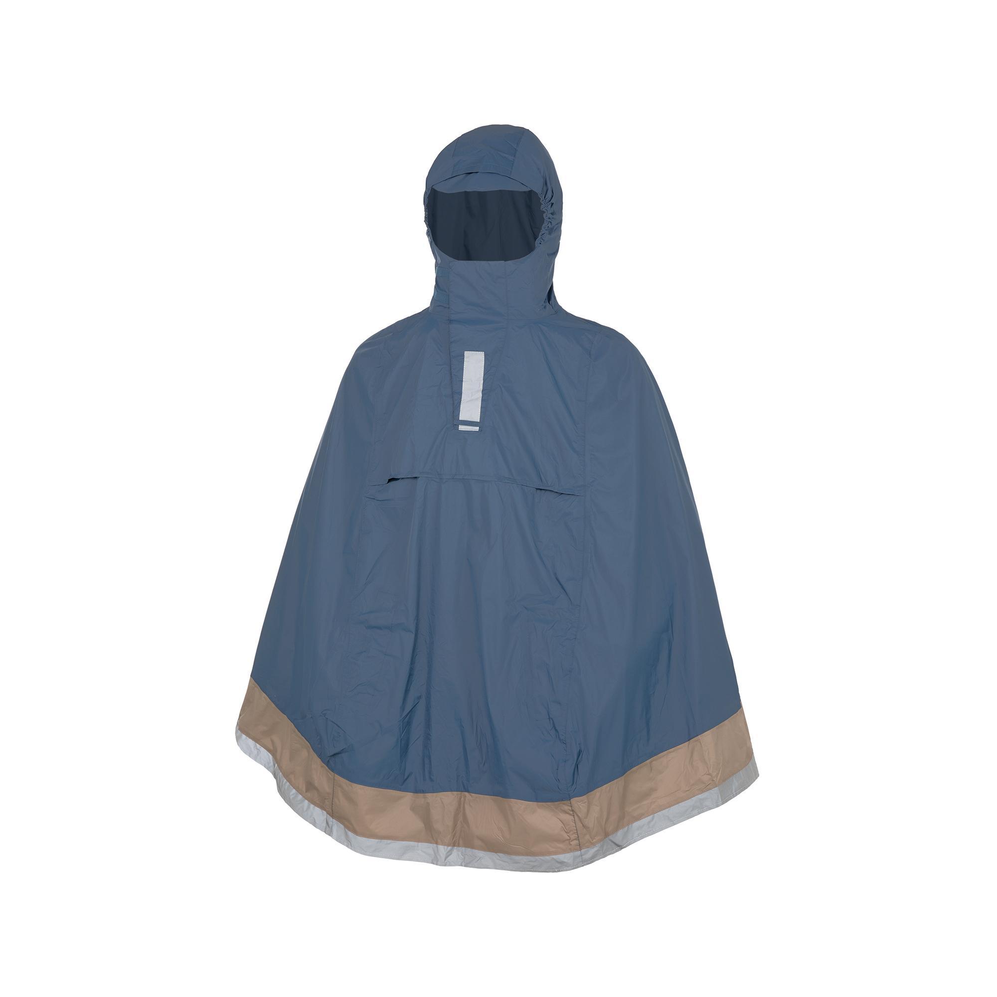 Rain Cape Garibaldina Plus Dark Blue