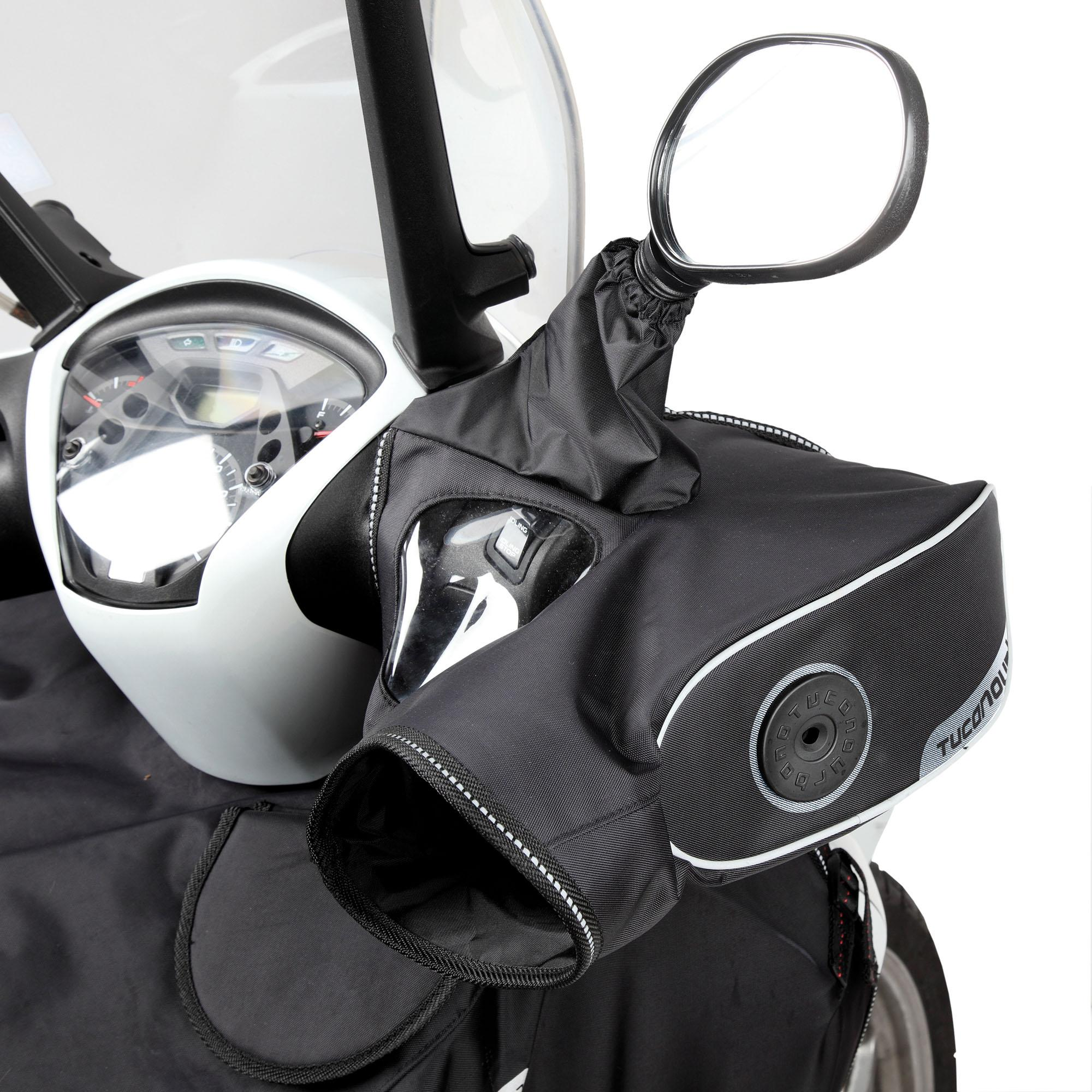 Polyamide Hand Grip Covers Sp For Handlebars With Mirrors Black