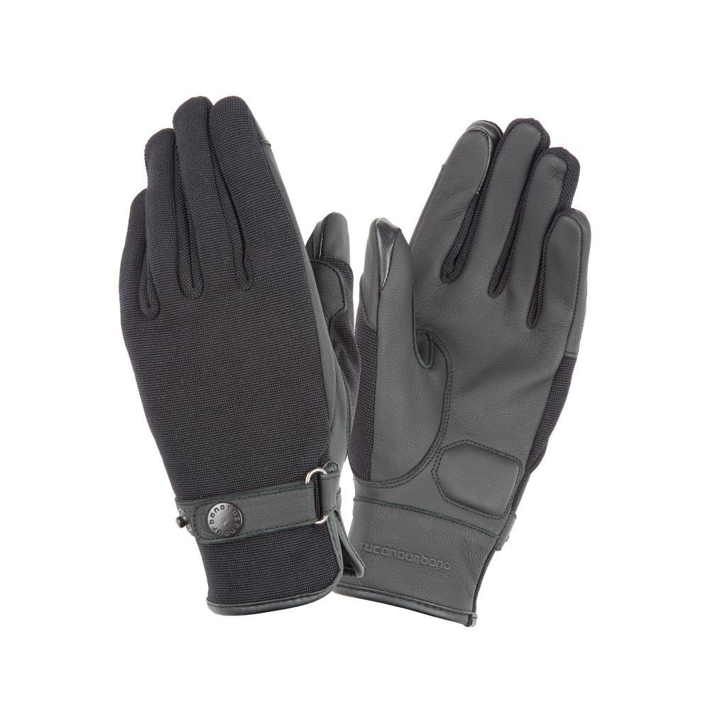 tucano urbano ce approved motorbike gloves  black