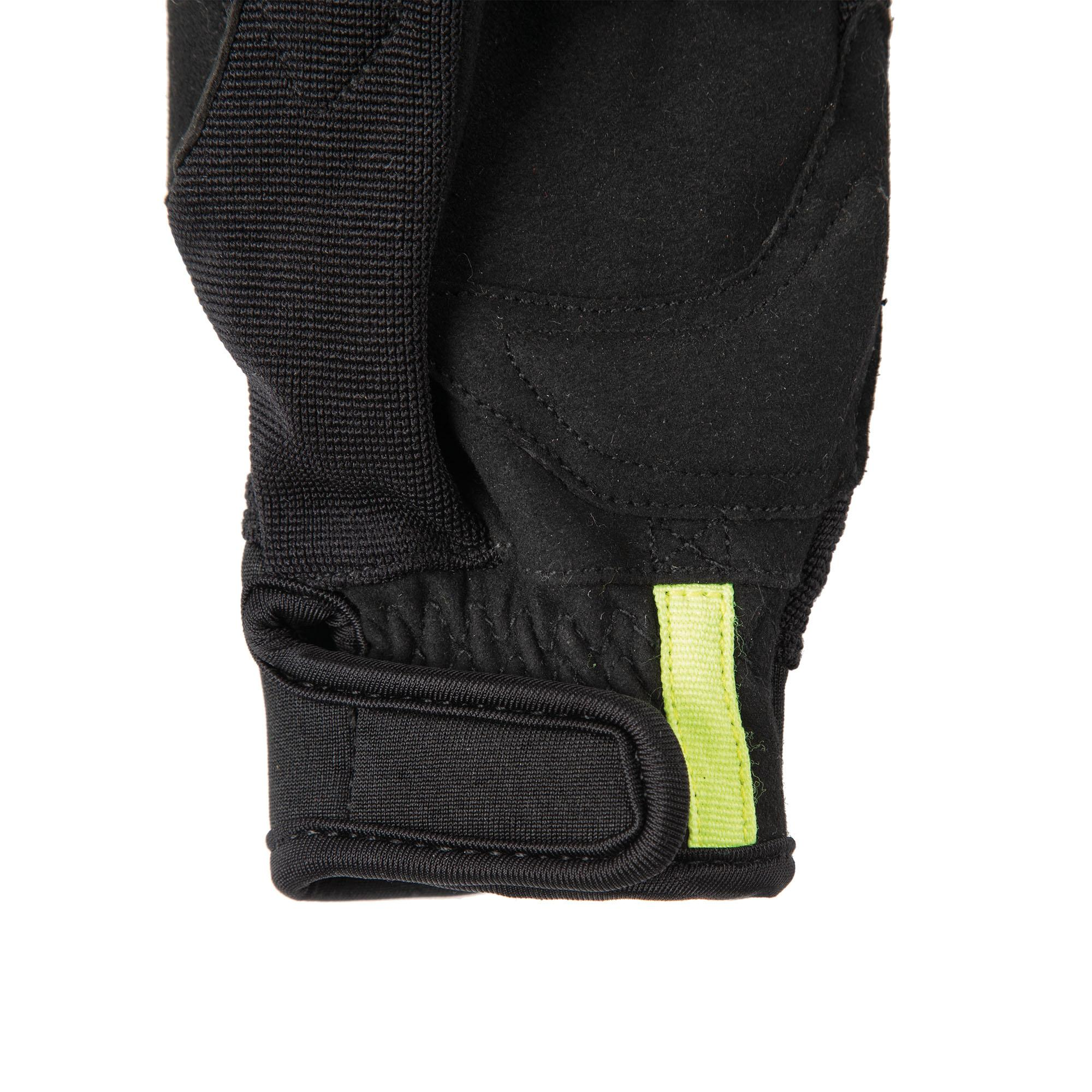 Gloves Miky Kid Black–Fluorescent Yellow