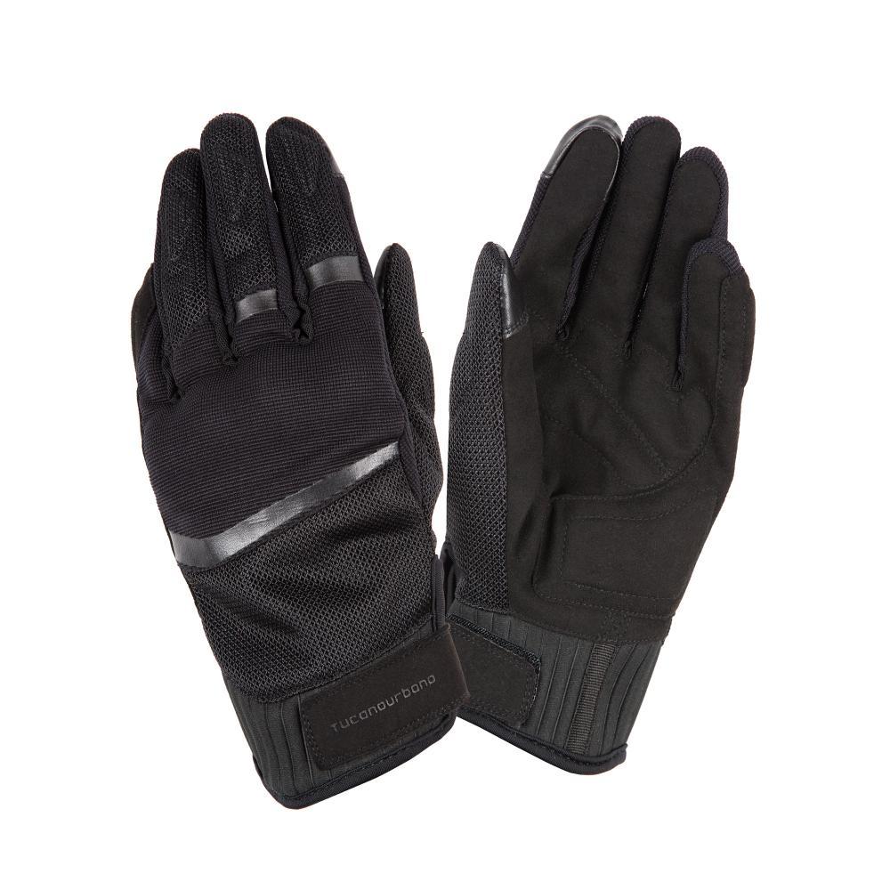 tucano urbano guanti certificati moto ce nero