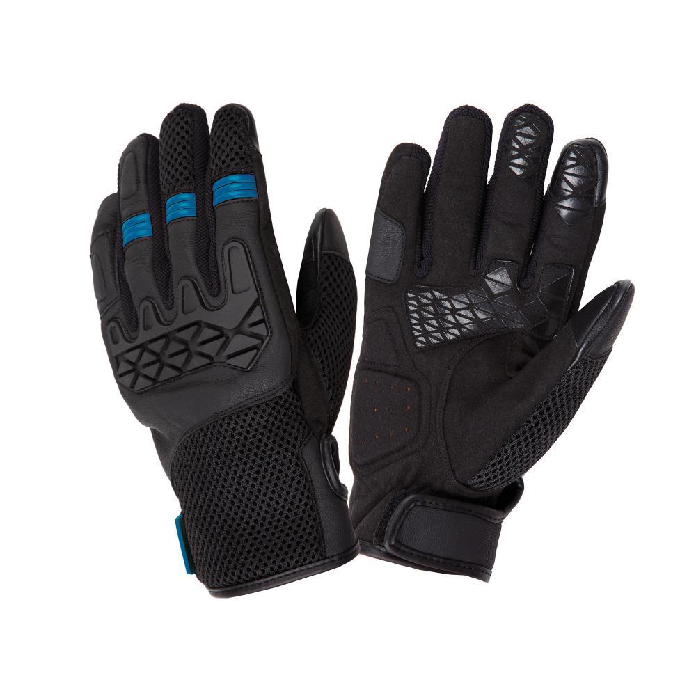 tucano urbano ce approved motorbike gloves  black–blue