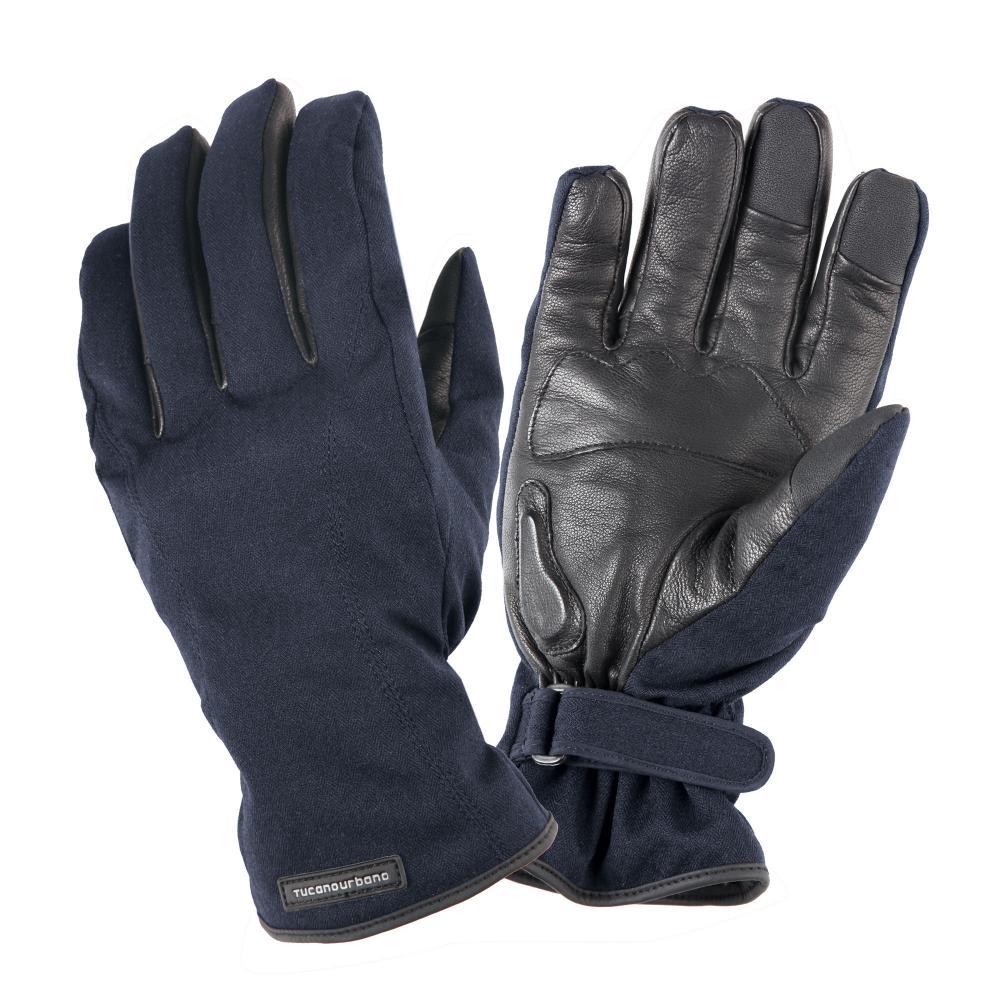 tucano urbano guanti certificati moto ce blu