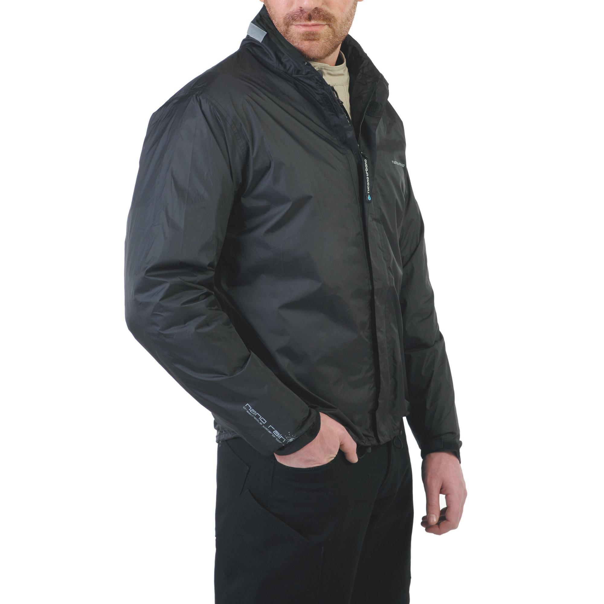 Nano Rain Jacket Black