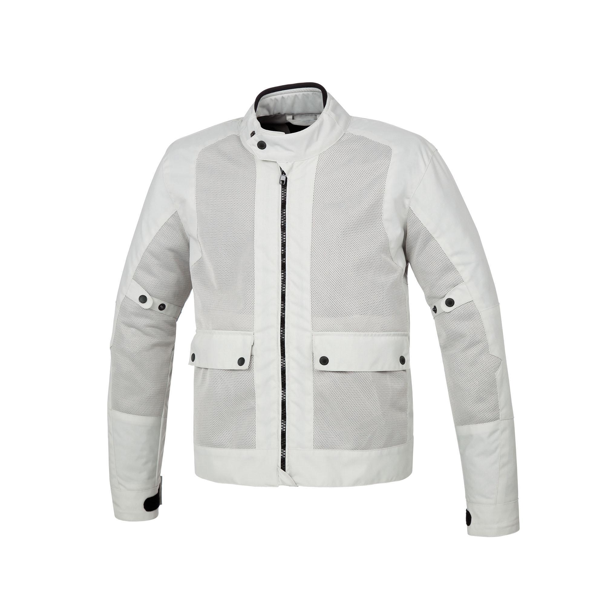 Jacket Network Light Grey