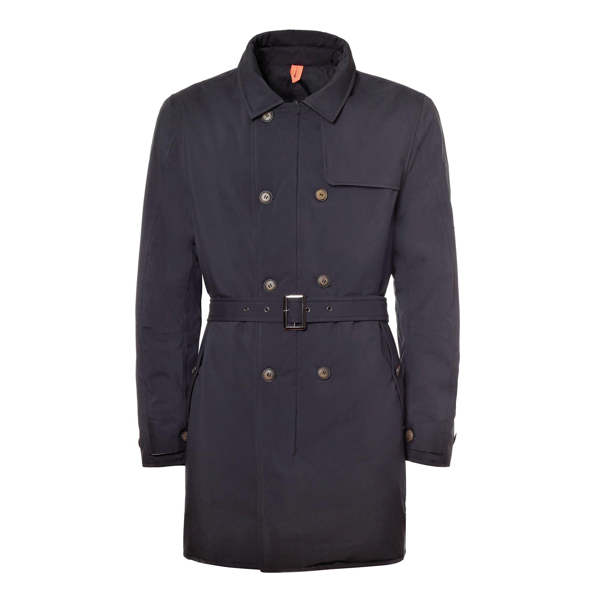 Trench Coat Watson Blue Black