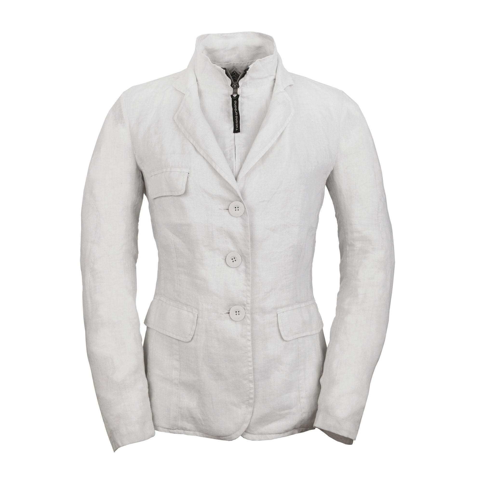 Blazer Cottage Lino Lady Optical White