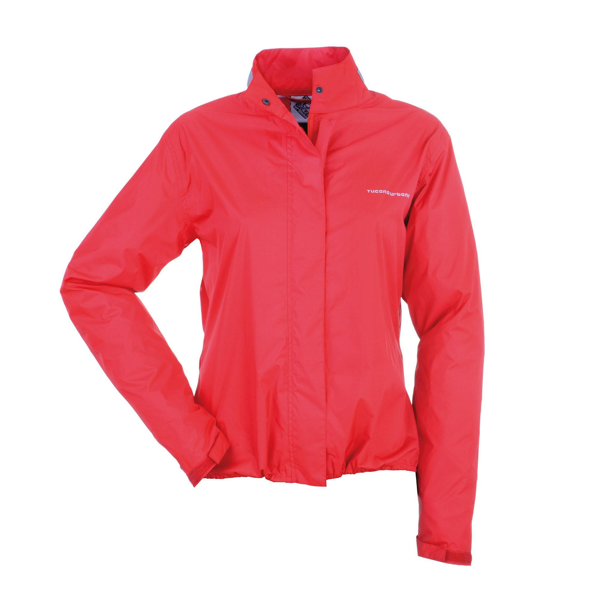 Nano Rain Lady Jacket Red