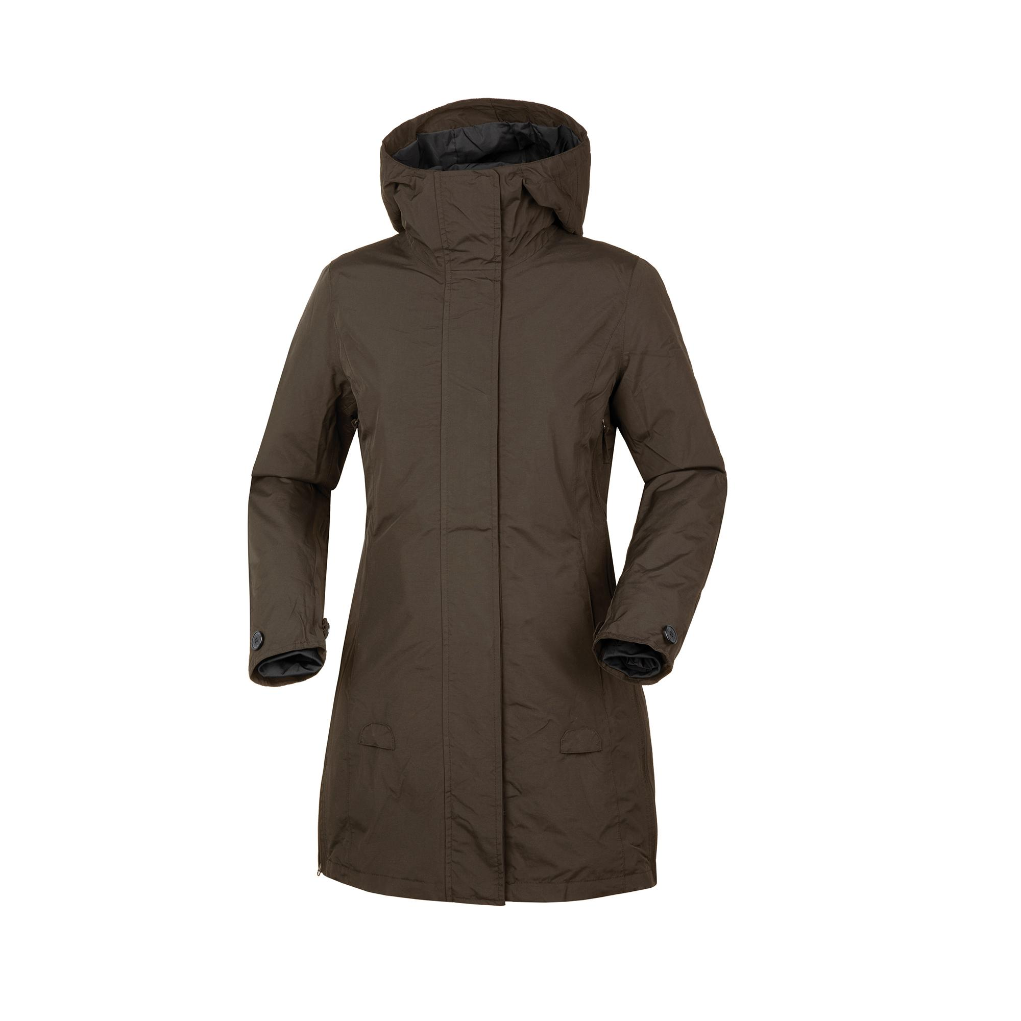 Magic Parka Lady Marrone