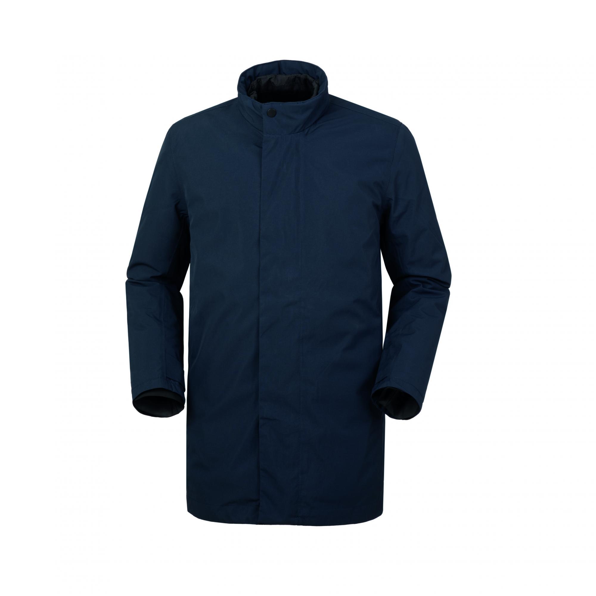 Car Coat Scala Blu Scuro