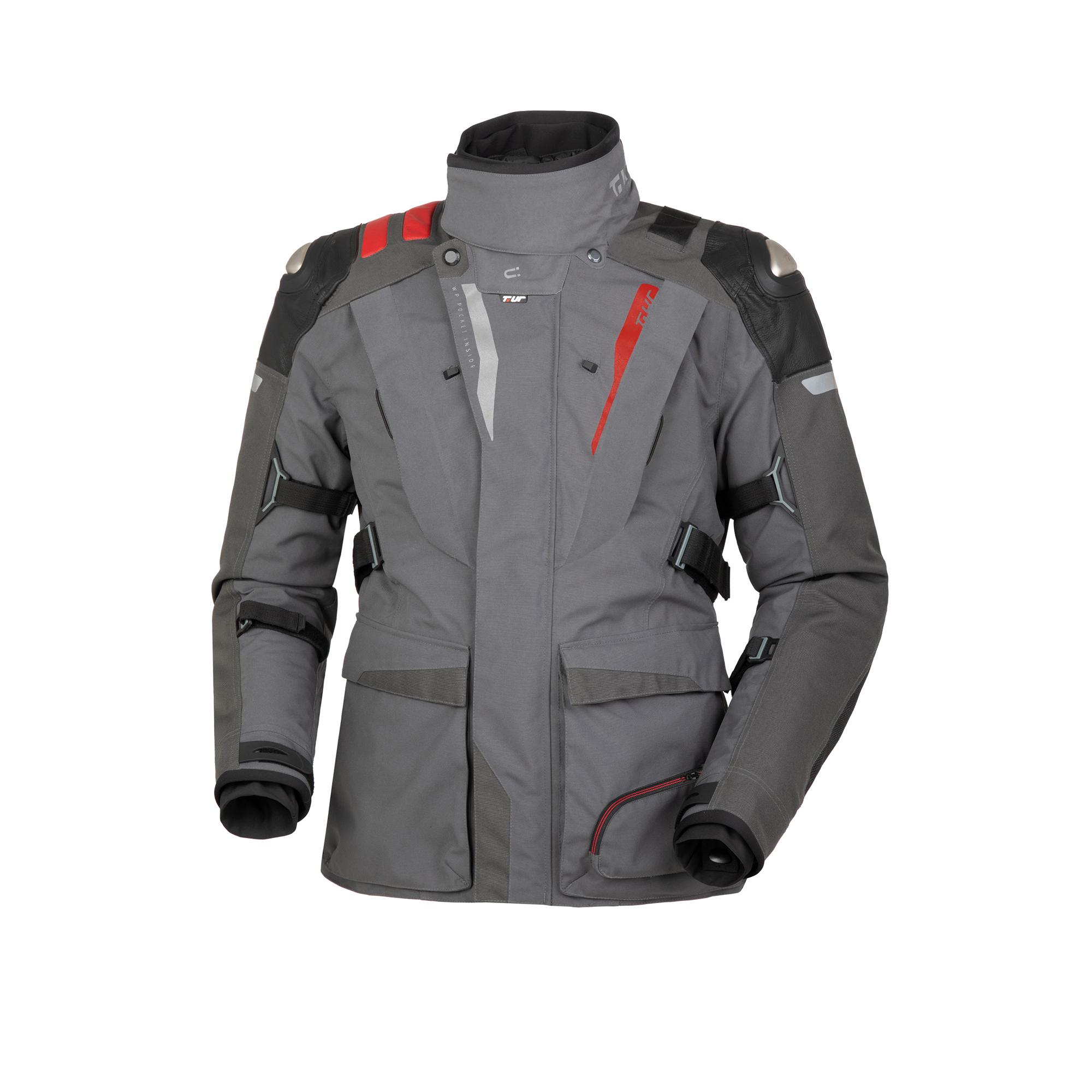 Giacca J-zero Dark Grey-Red