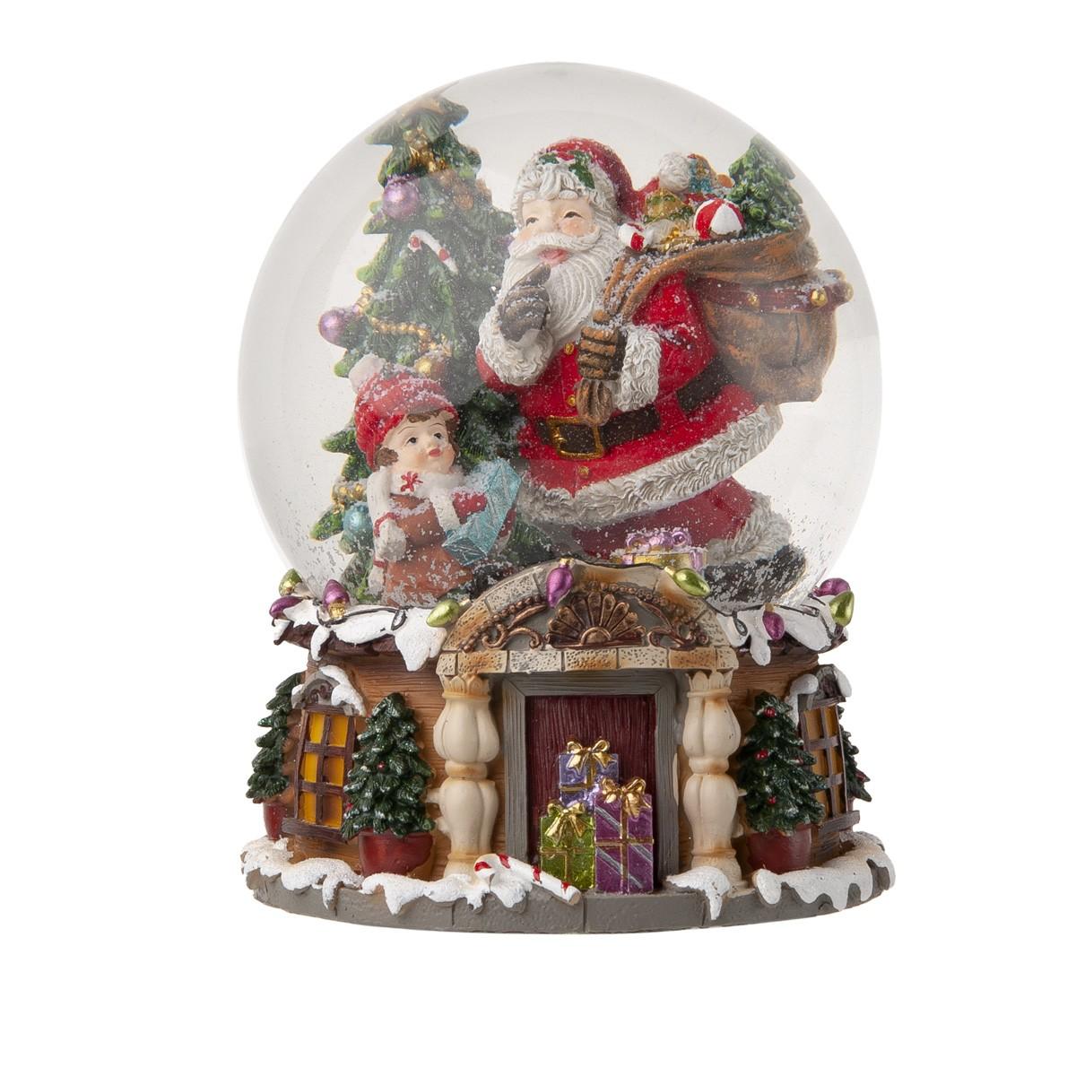 Waterball Babbo Natale Con Carillon