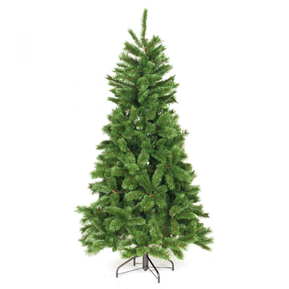 Abete Artificiale Evergreen, Verde, Disponibile In Diverse Altezze. In Pvc.