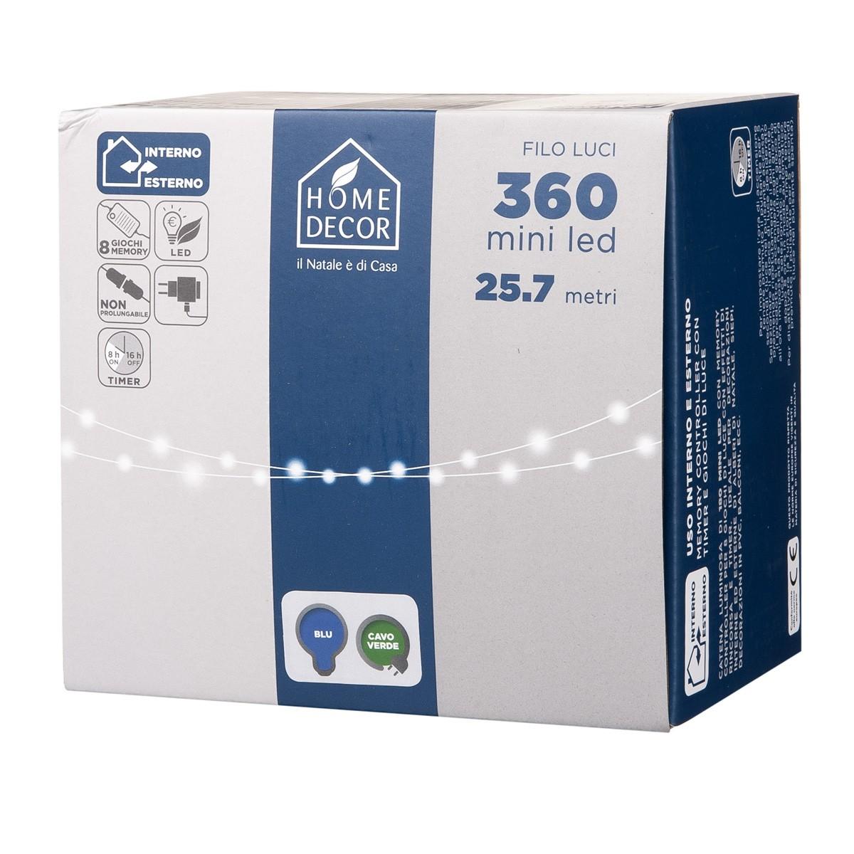Catena 360 Mini Led Blu