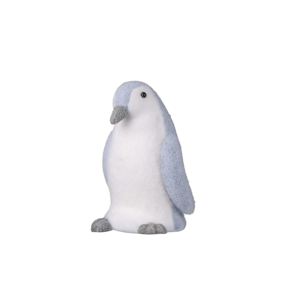 Pinguino Grigio Floccato H 25