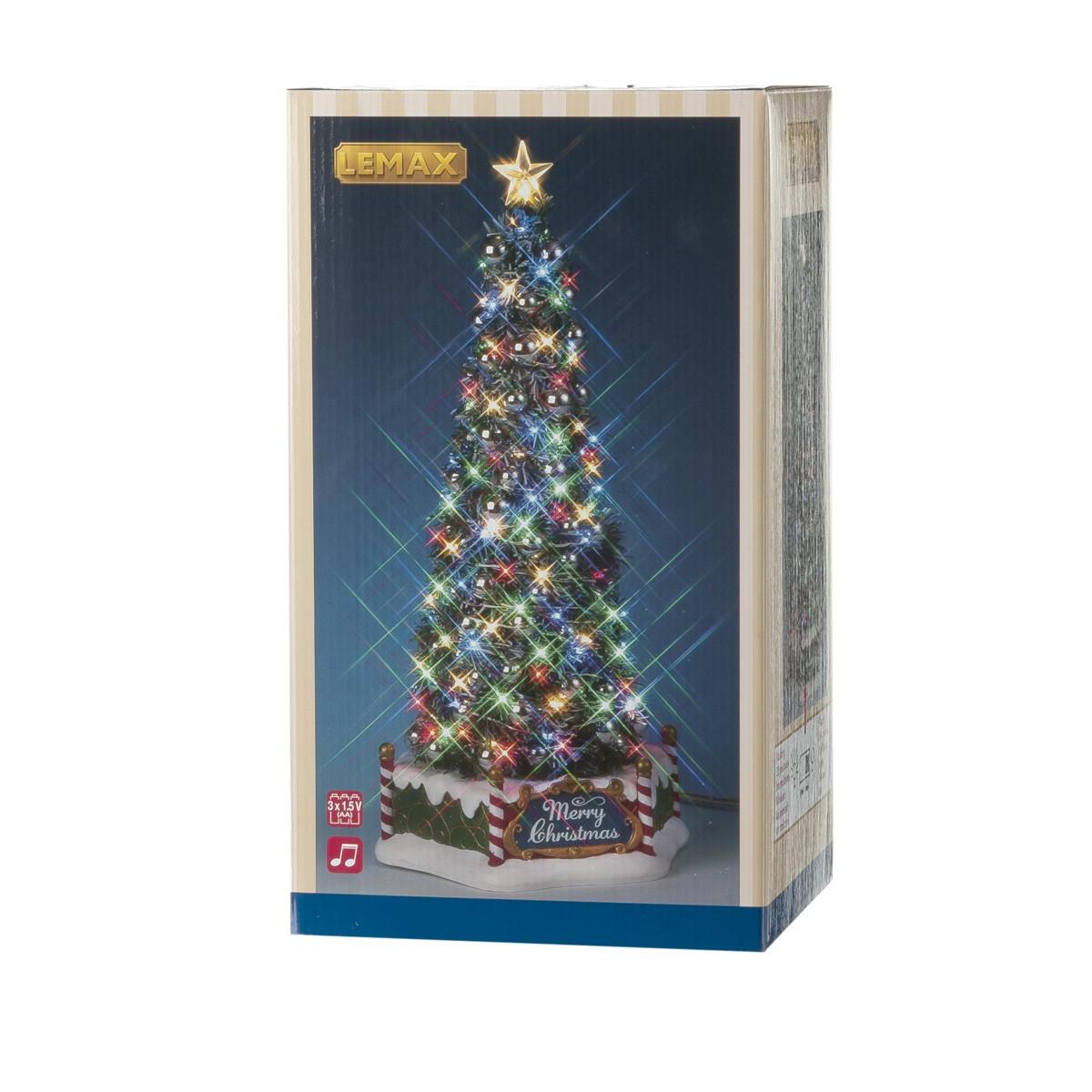 Lemax Il Nuovo E Maestoso Albero Di Natale