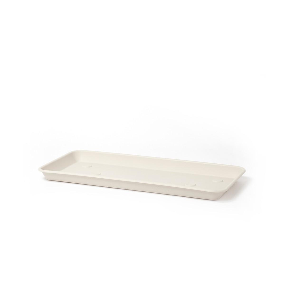 Sottovaso Rettangolare Omnia Bianco Pietra