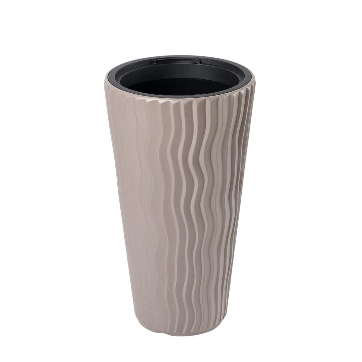 Vaso Alto Sandy Slim Sabbia