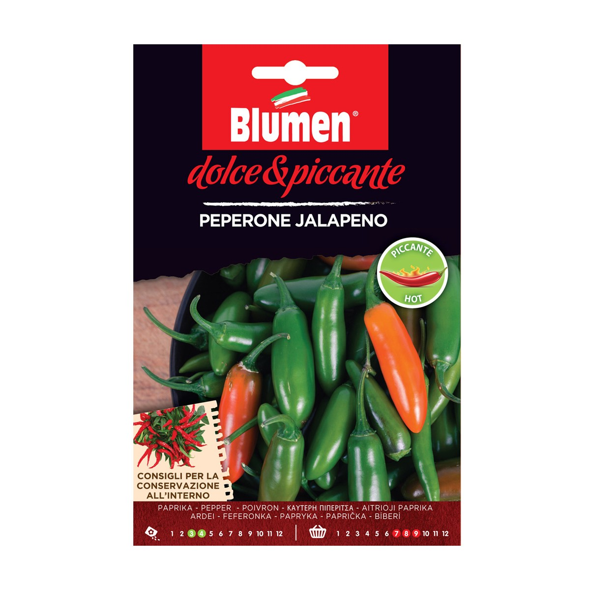 Semi Peperone Jalapeno
