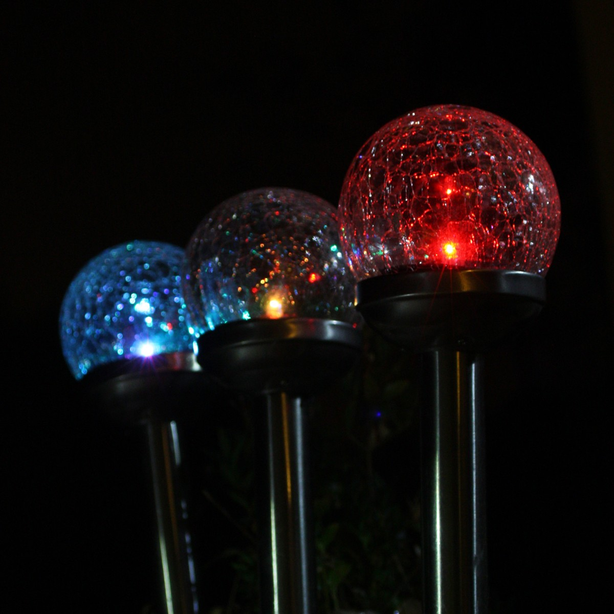 Lampada Solare Perle De RosÈe 8cm