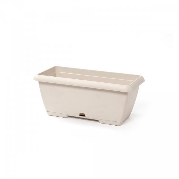 Cassetta Terrae Color Bianco Pietra.  Disponibile In Diverse Lunghezze.